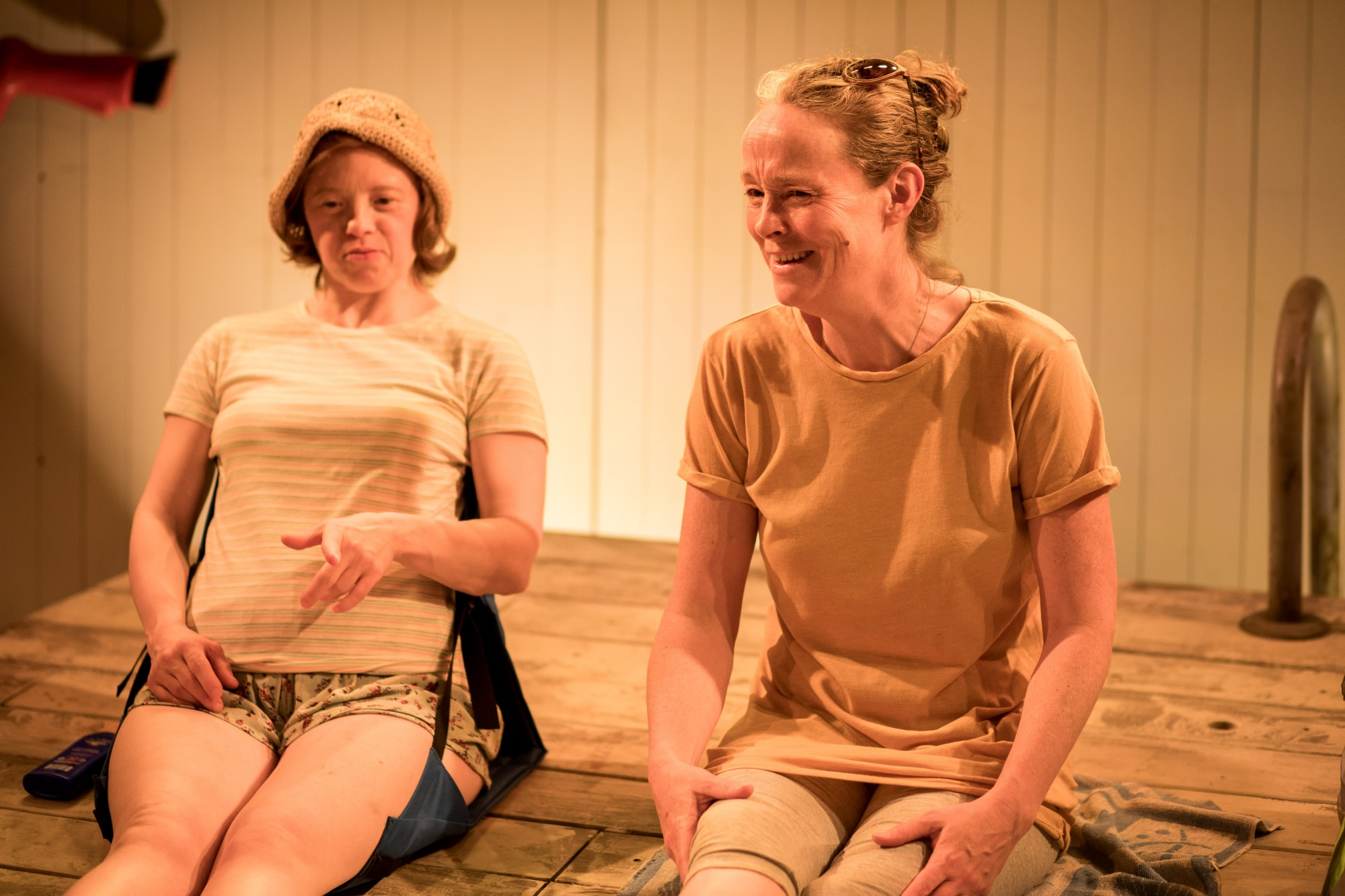 Sarah Gordy and Penny Layden in Jellyfish. Photo: Samuel Taylor