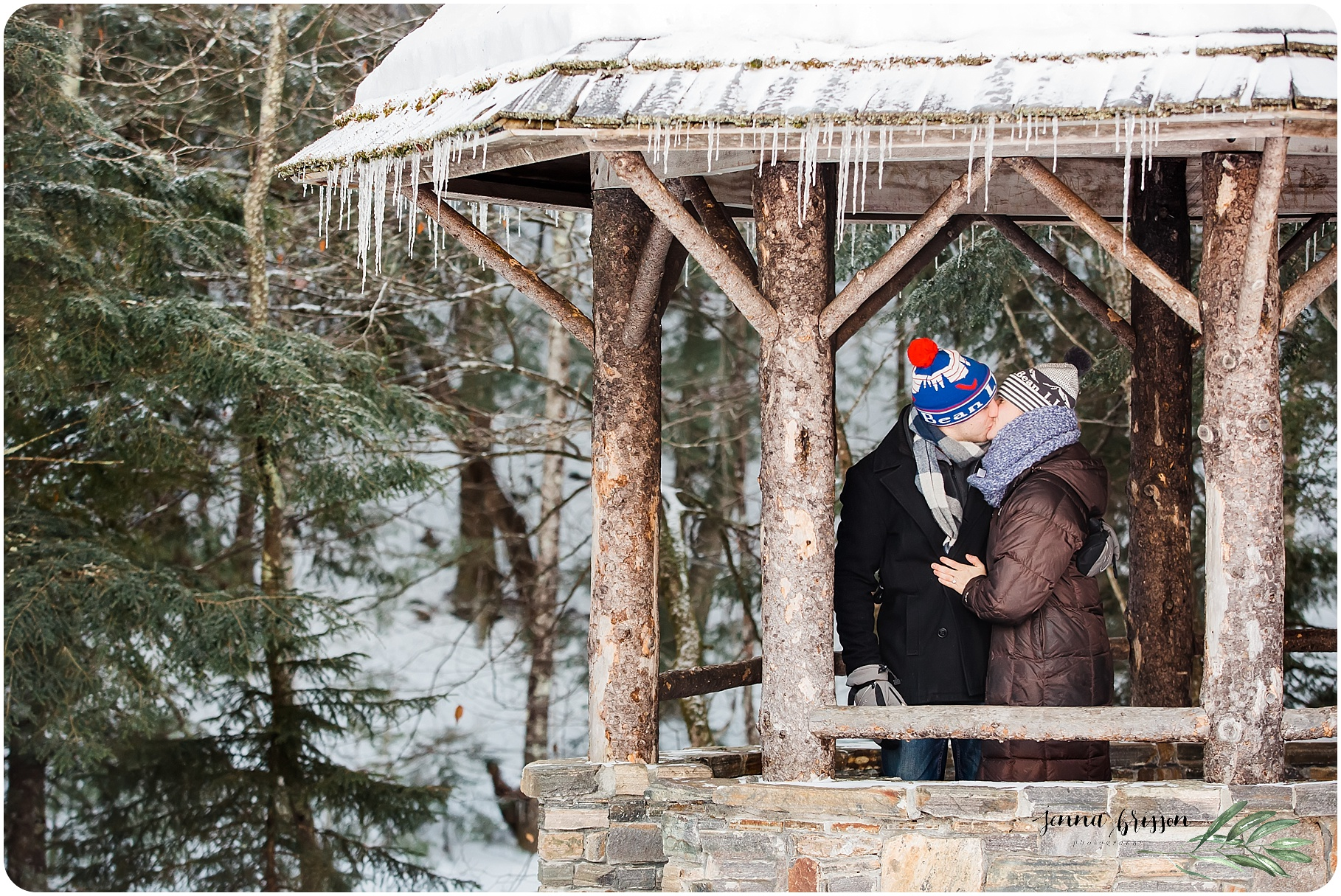 Vermont Portrait Photography - Jenna Brisson Photography - Vermont Engagement Photos - Stowe Vermont