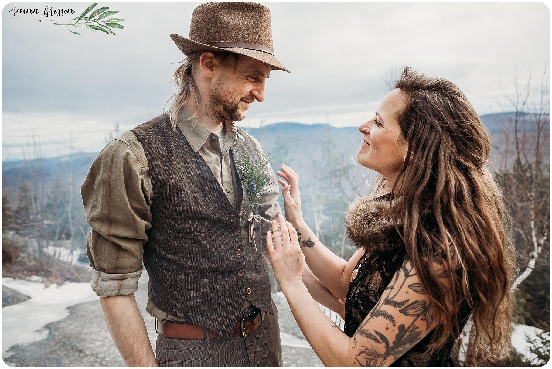 Vermont Destination Wedding Photographer - Jenna Brisson