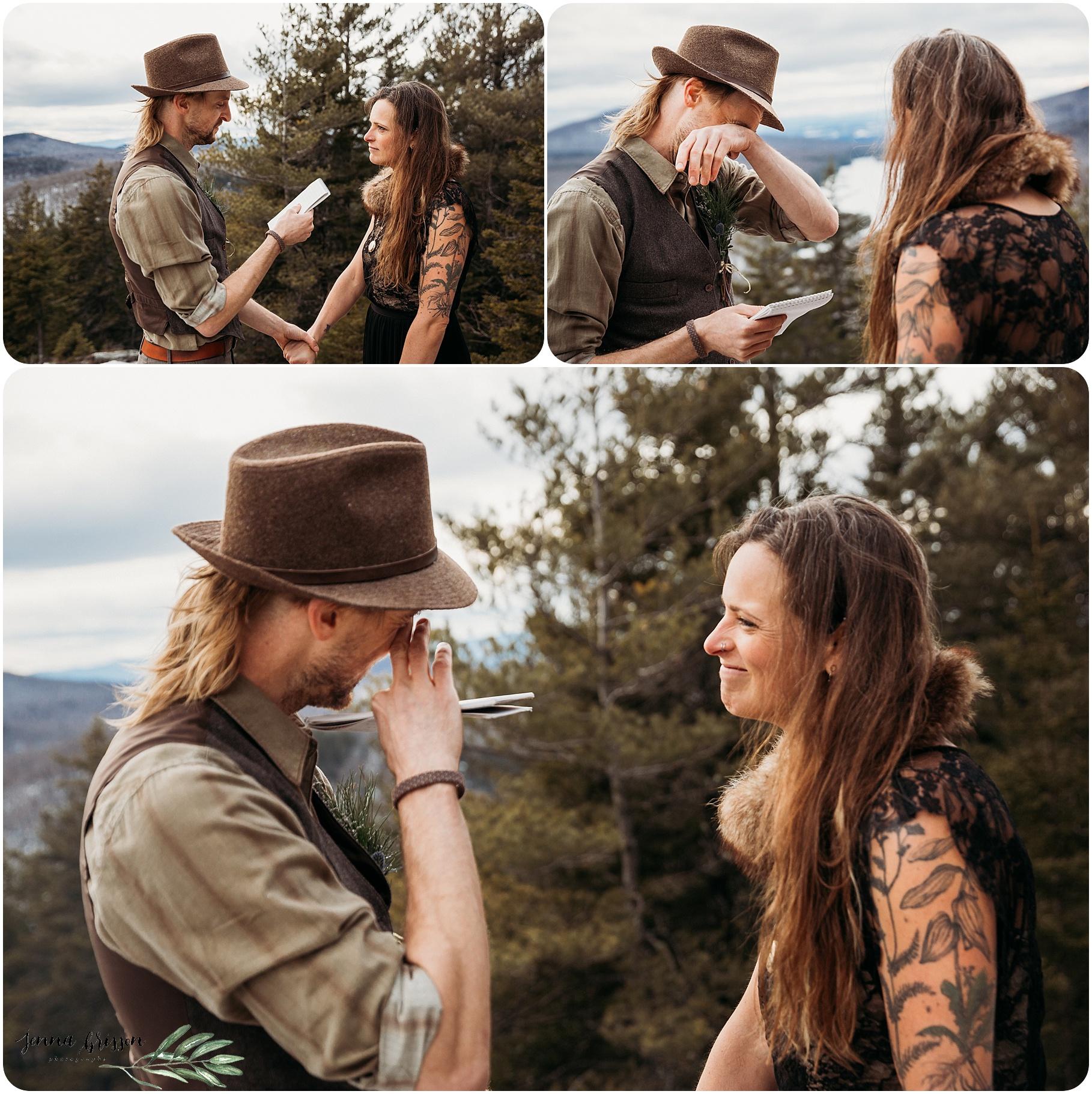 Vermont State Park Wedding - Groton Vermont