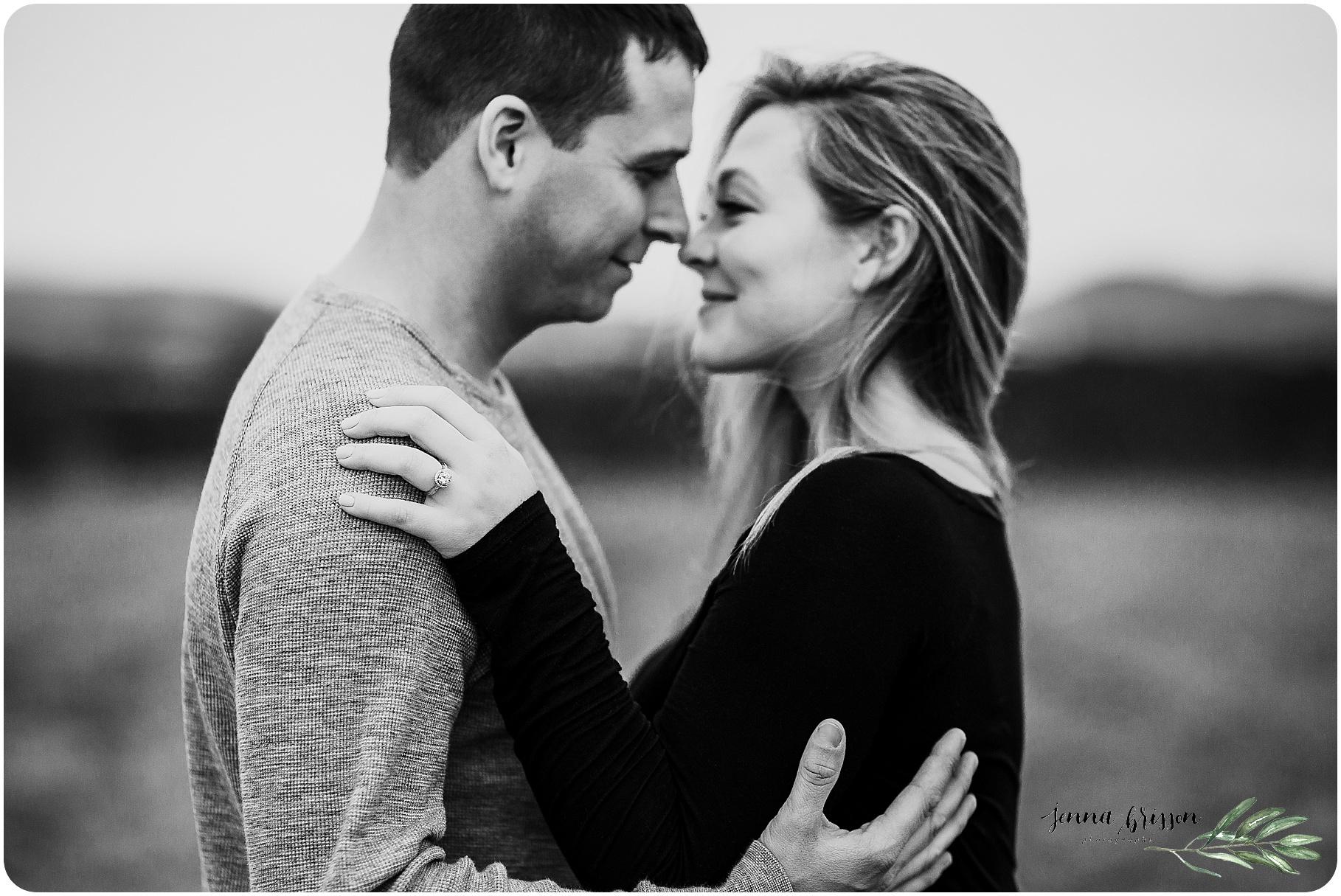 In Home Engagement Session - Burlington, Vermont - Jenna Brisson Photography