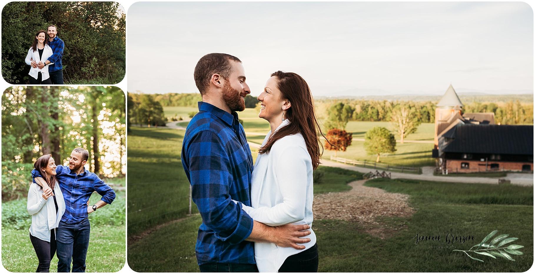 Shelburne Farms Engagement - Jenna Brisson Photography