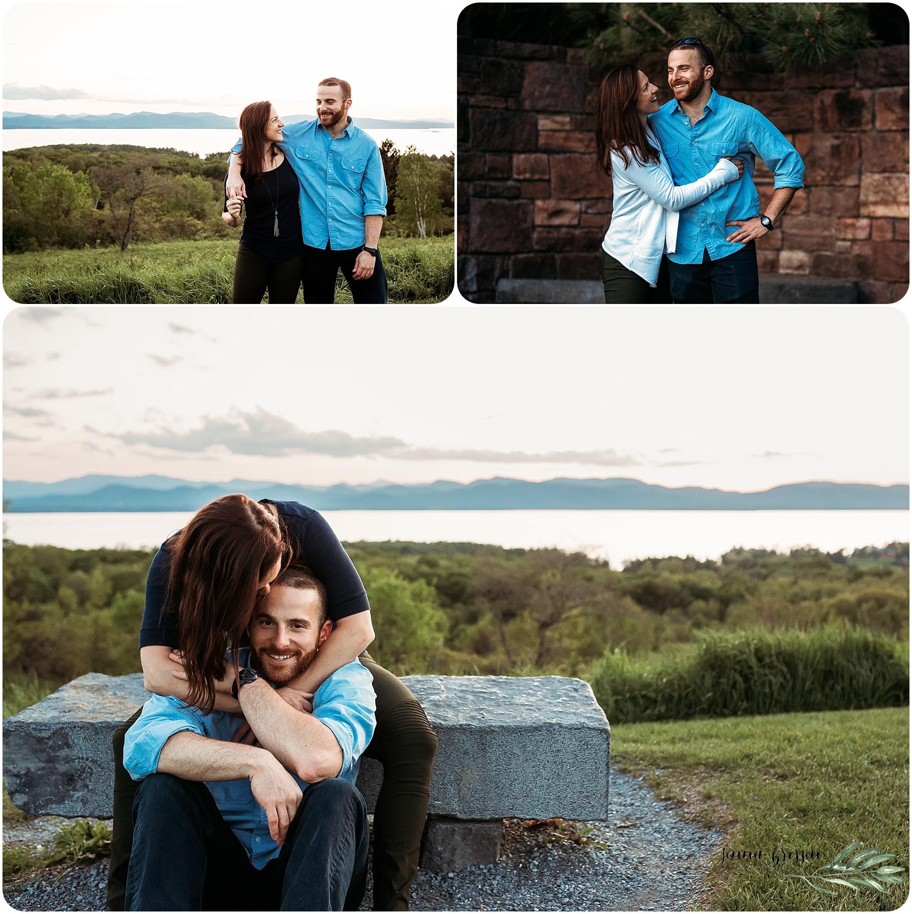 Shelburne Farms Engagement 2 - Jenna Brisson Photography
