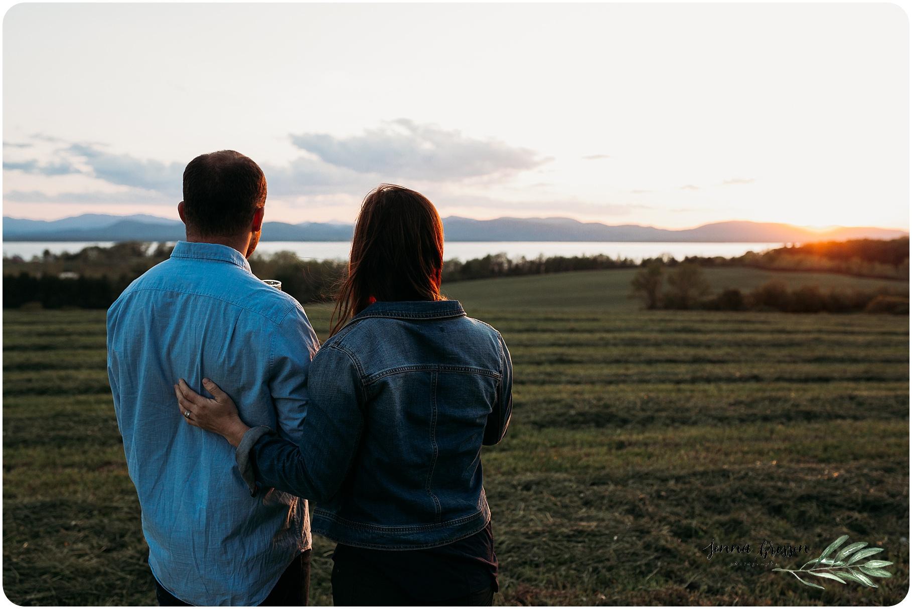 Shelburne Farms Vermont Engagement Session 2 - Jenna Brisson Photography