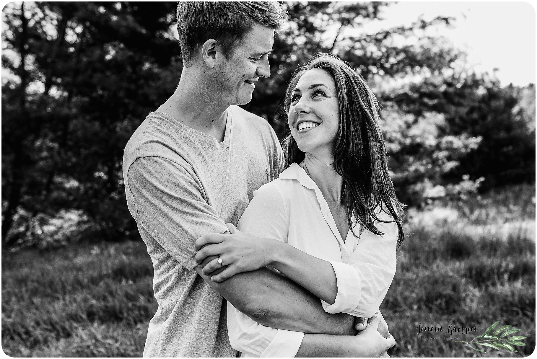 Vermont In Home Engagement Session 10 - Jenna Brisson Photography