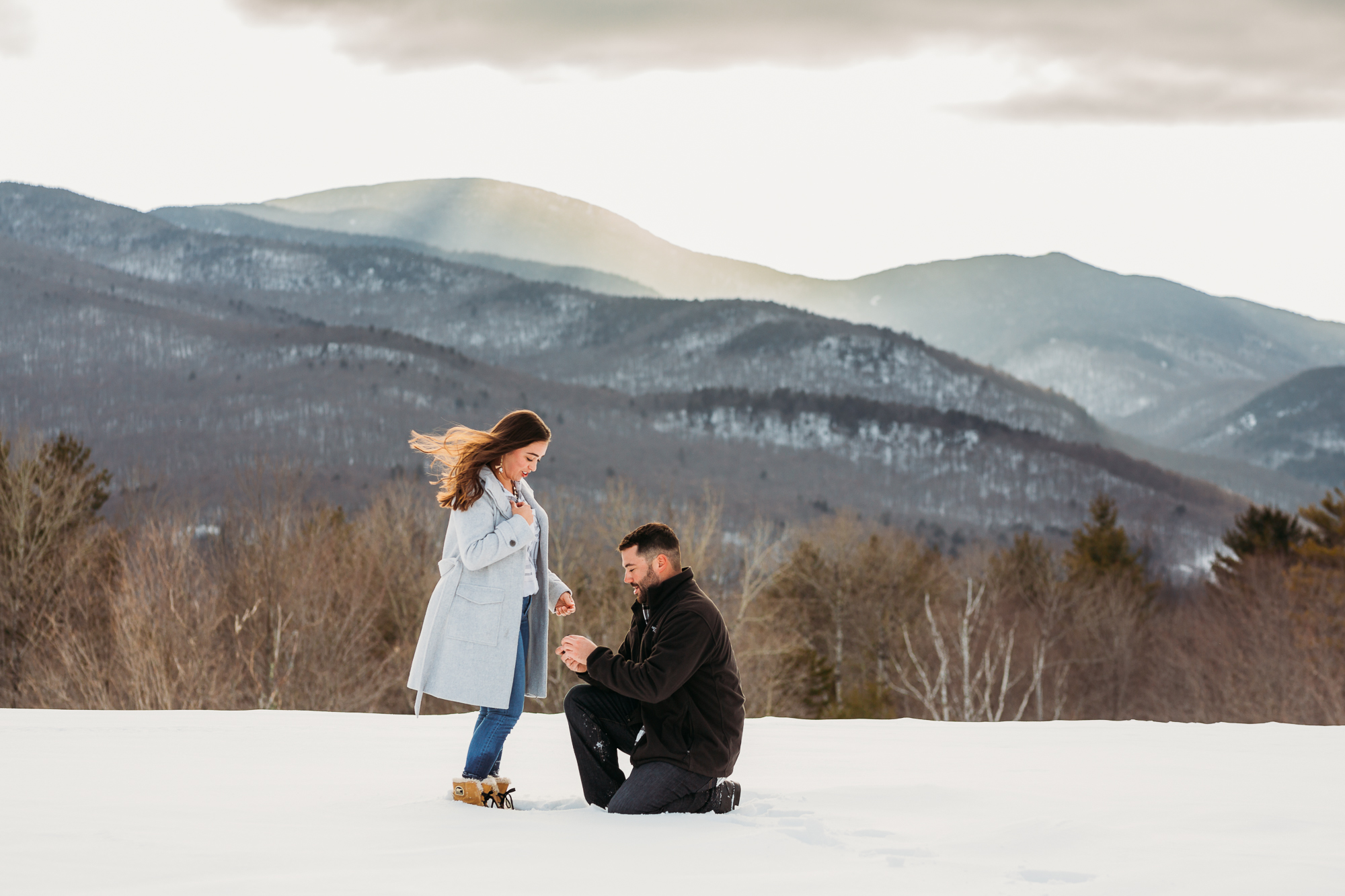 Stowe Proposal Photography Session