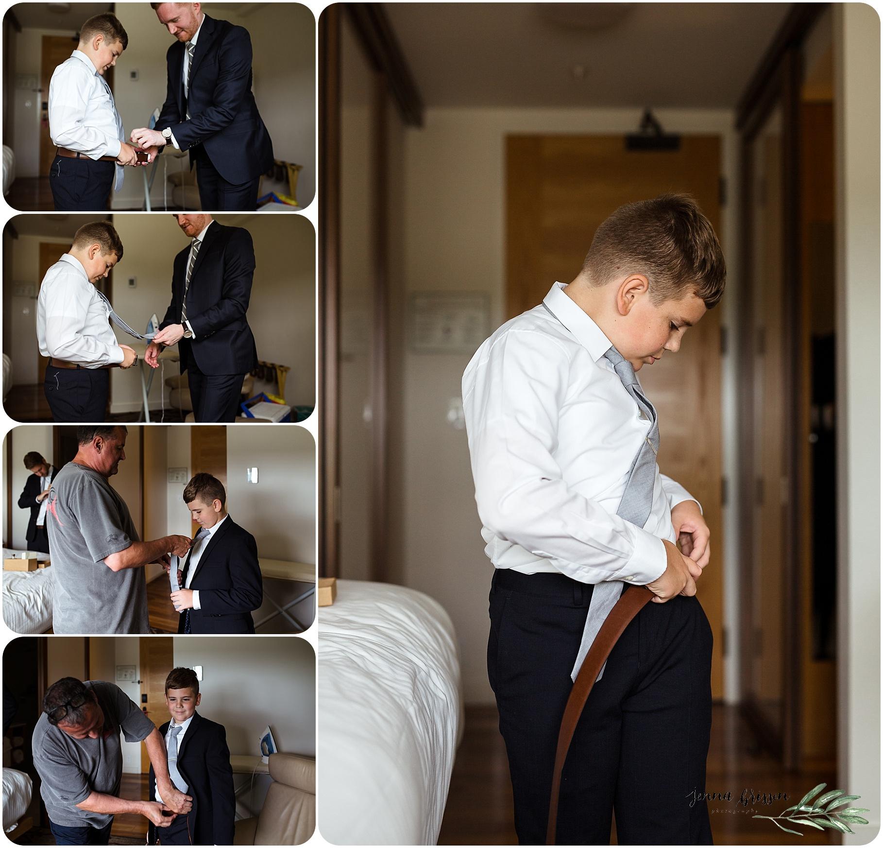 Hotel Vermont Wedding Getting Ready
