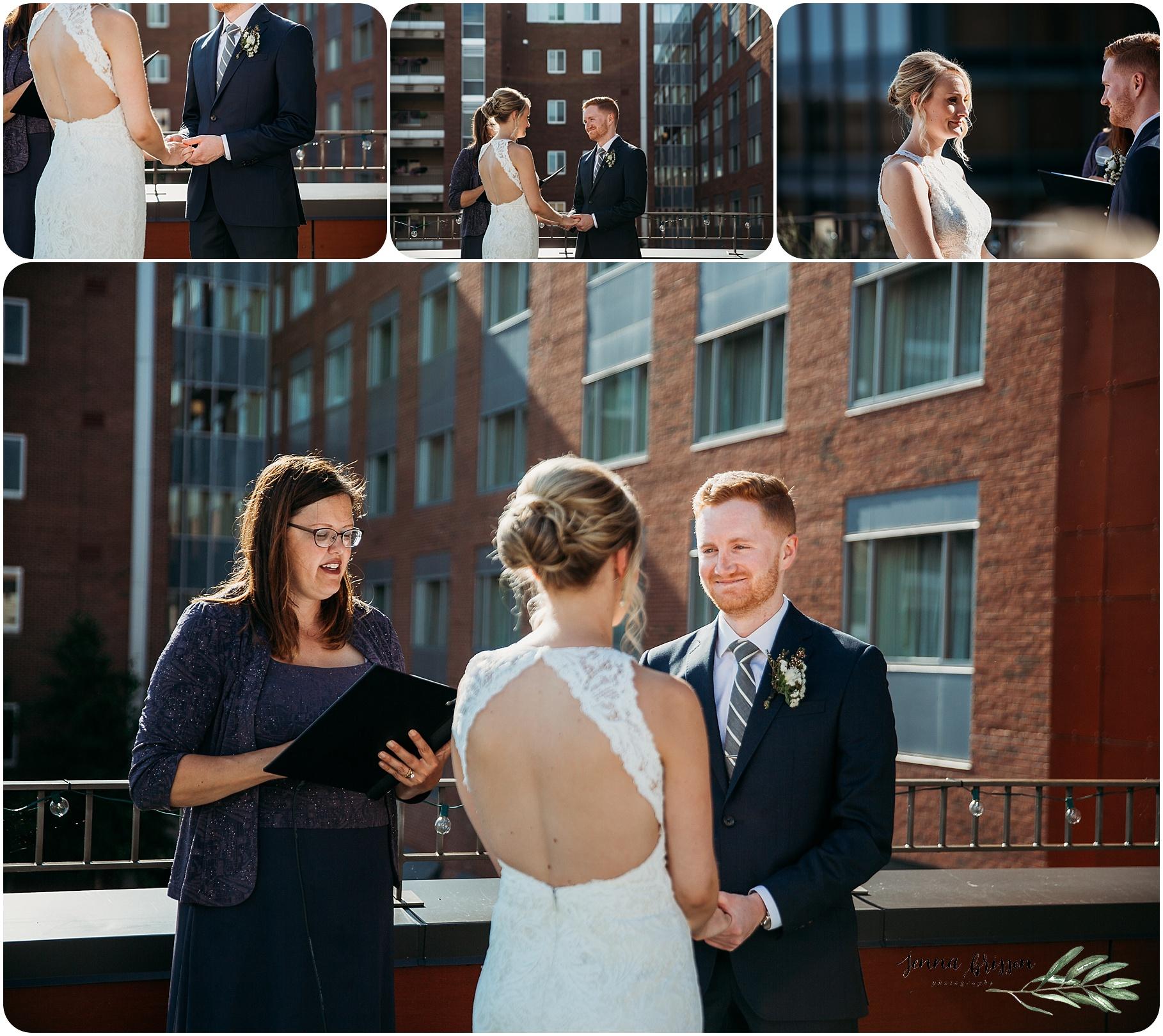 Hotel Vermont Wedding Ceremony - 4