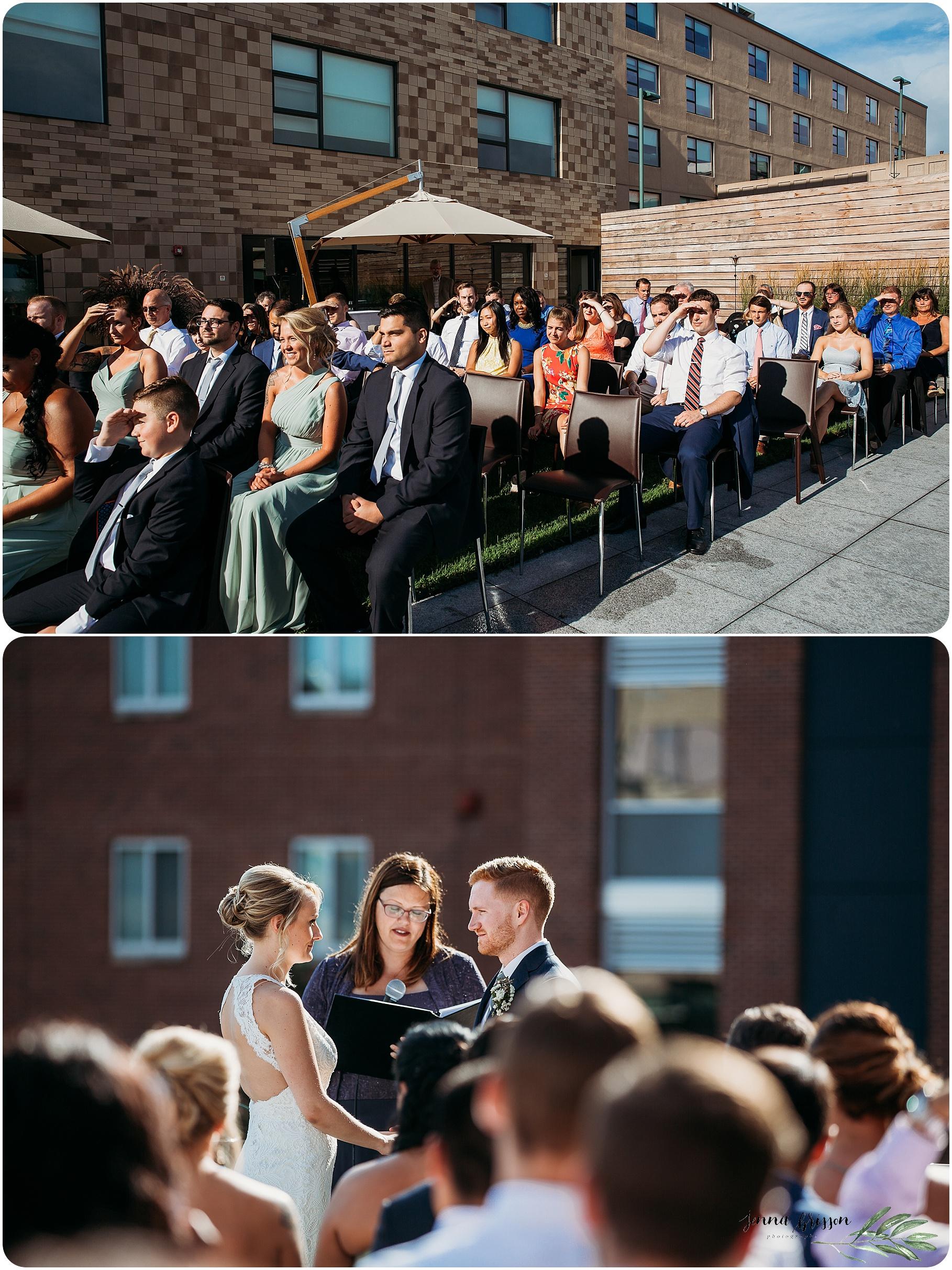 Hotel Vermont Wedding Ceremony - 5
