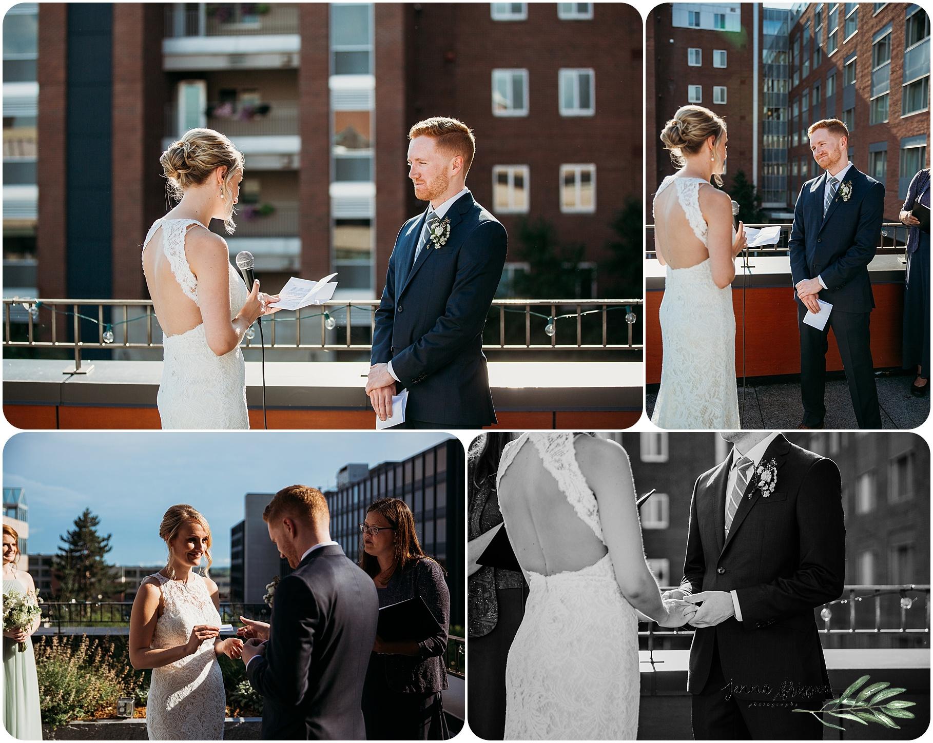 Hotel Vermont Wedding Ceremony - 6