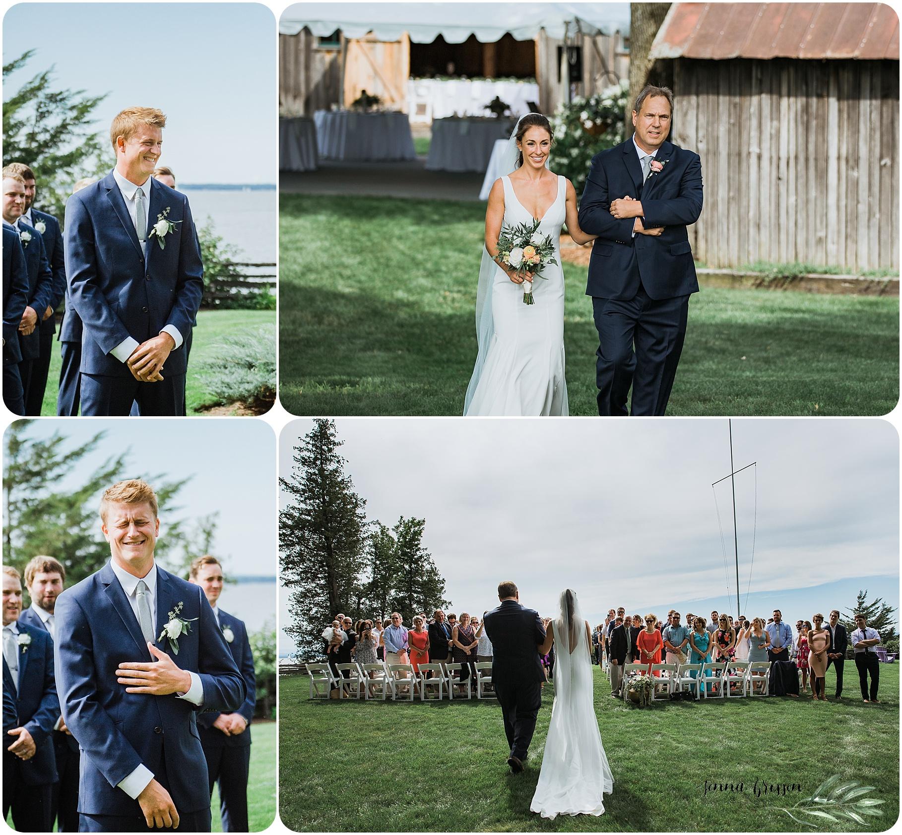 Ferry Watch Inn Wedding Vermont