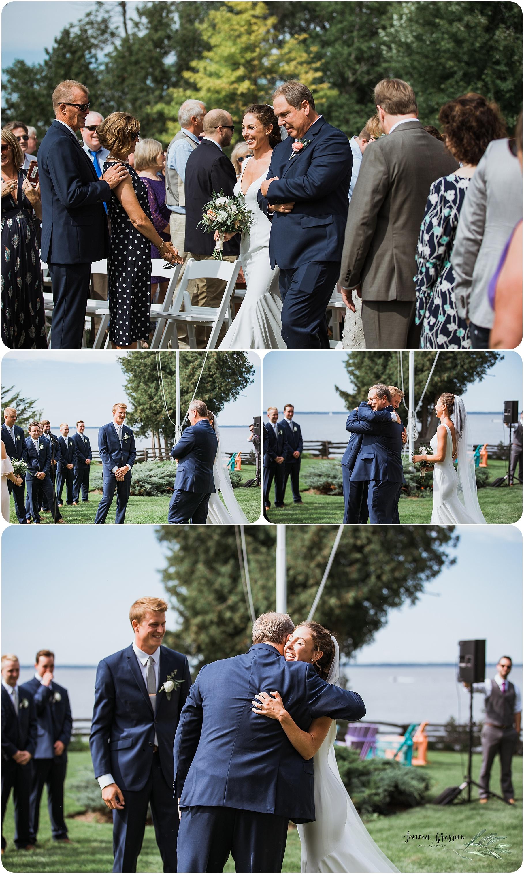 Ferry Watch Inn Wedding Vermont - Jenna Brisson Photography