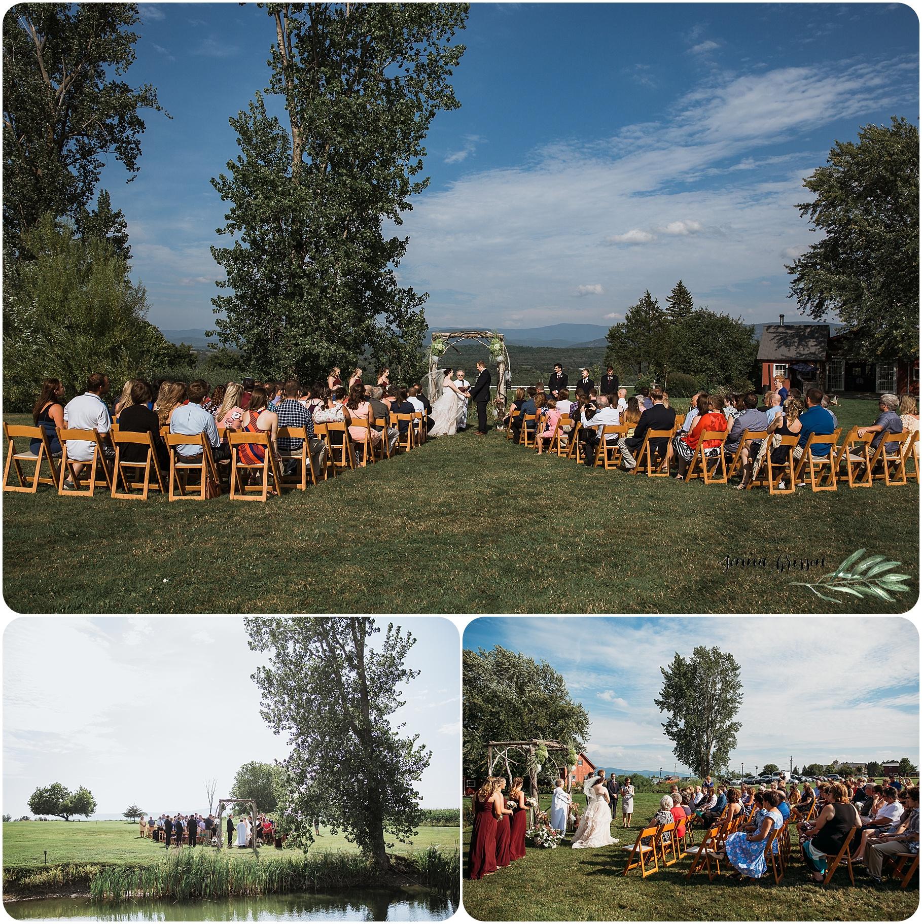 Summer Wedding - Tourterelle Restaurant and Inn