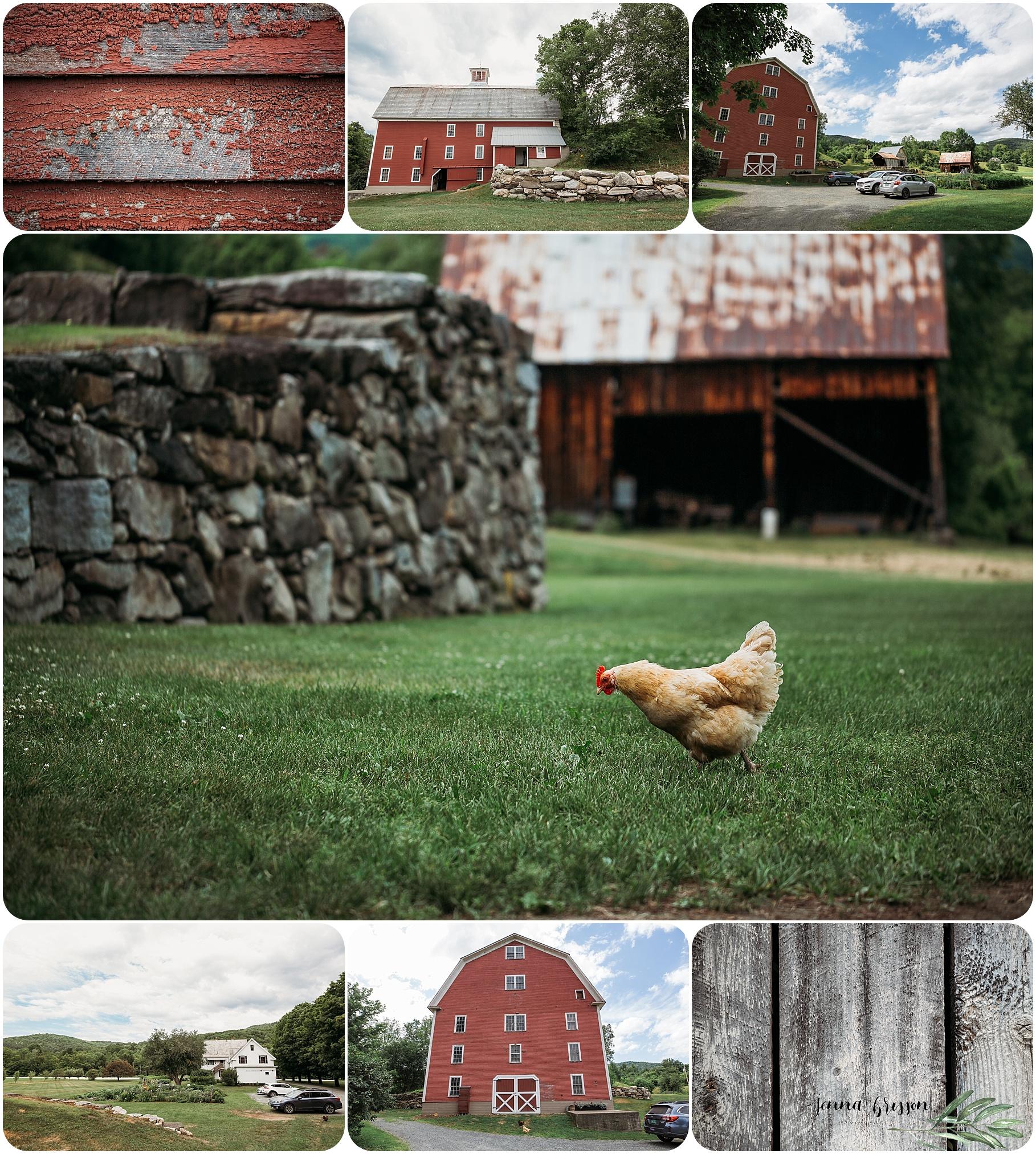 Vermont Fall Wedding Woodstock Vermont - The Farmhouse Inn at Robinson Farm Jenna Brisson Photography