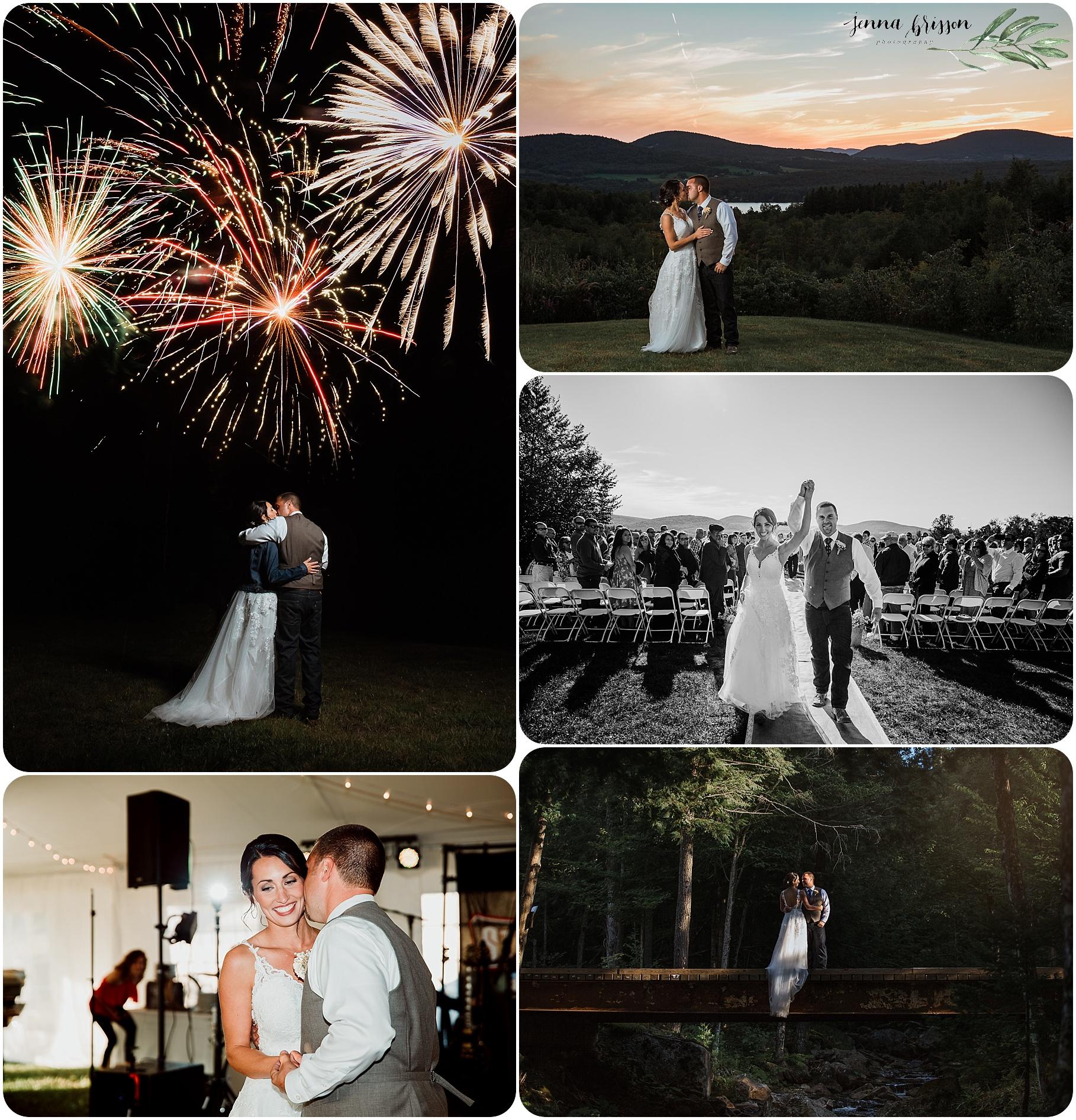 Vermont summer wedding photography