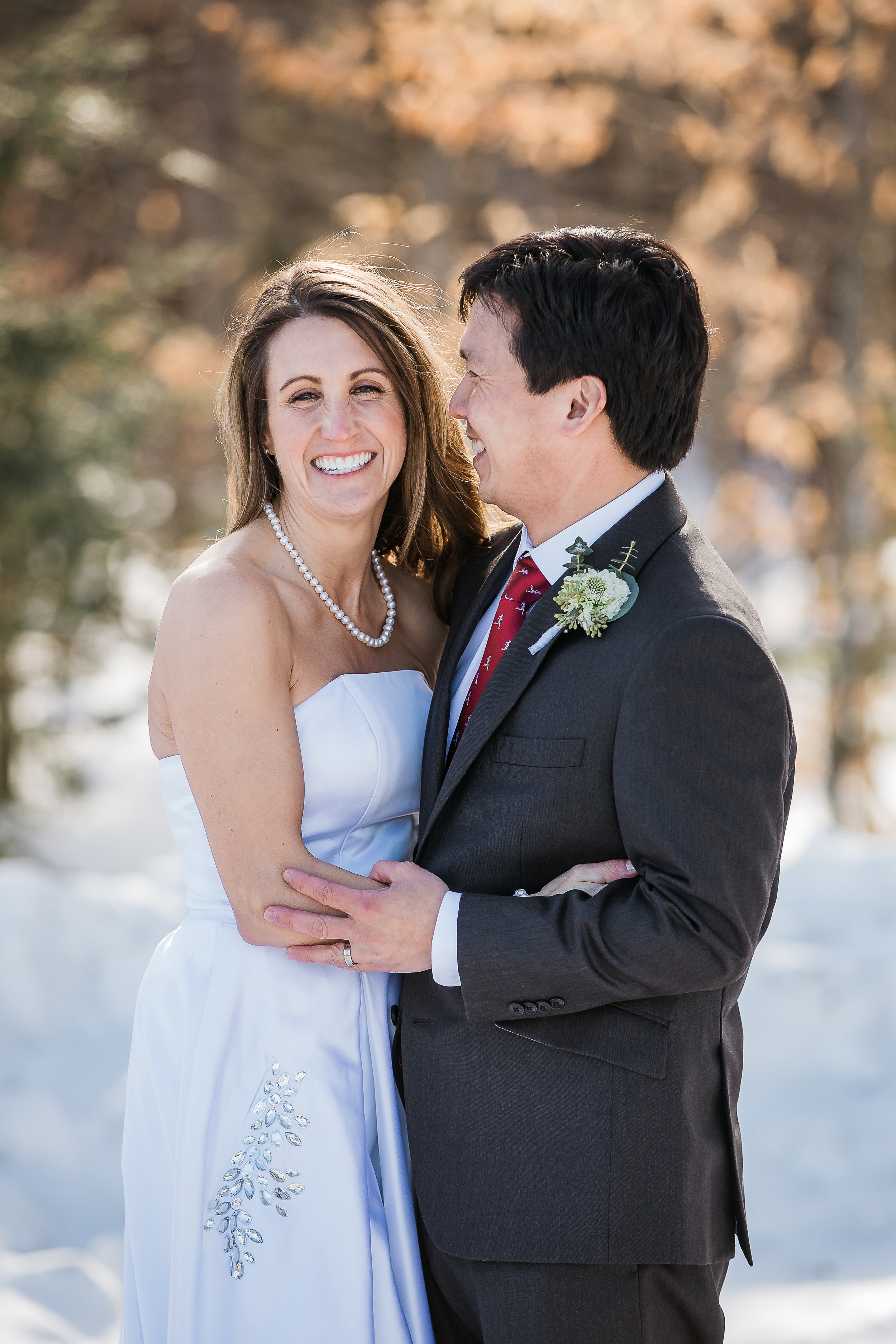 Stowe Vermont Elopement Photographer