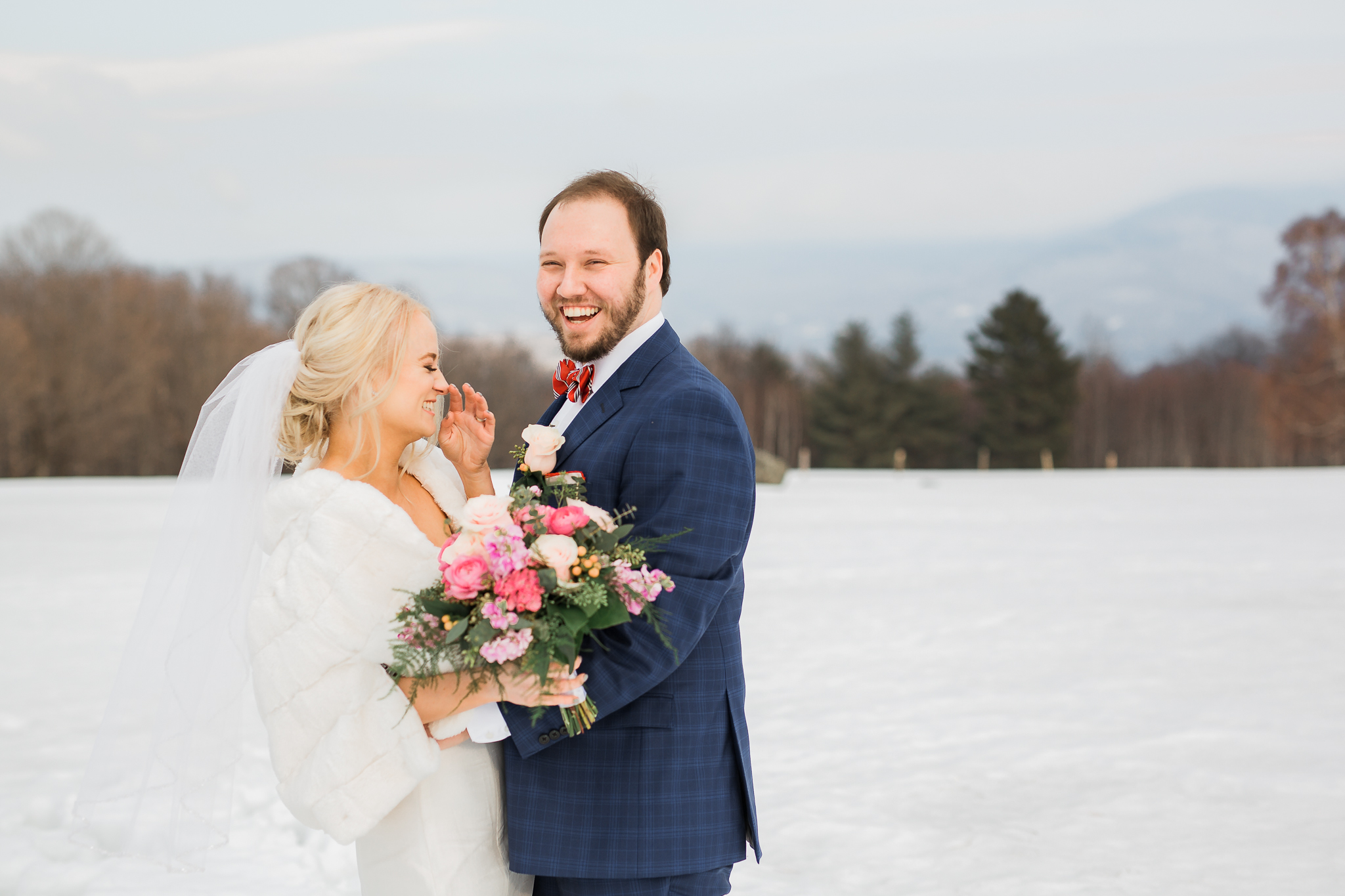 Trapp Family Lodge Winter Wedding Vermont