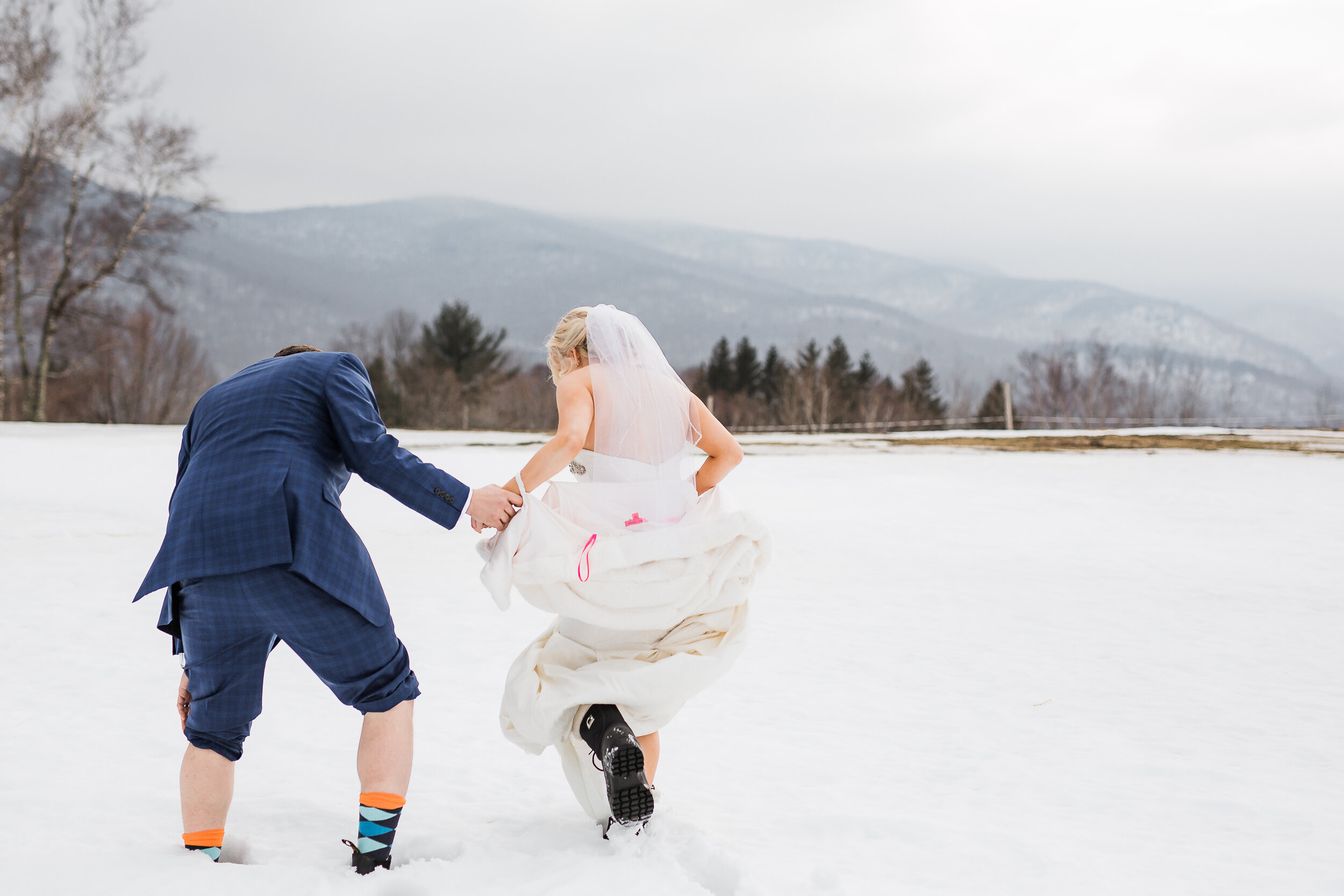 Trapp Family Lodge Winter Elopement