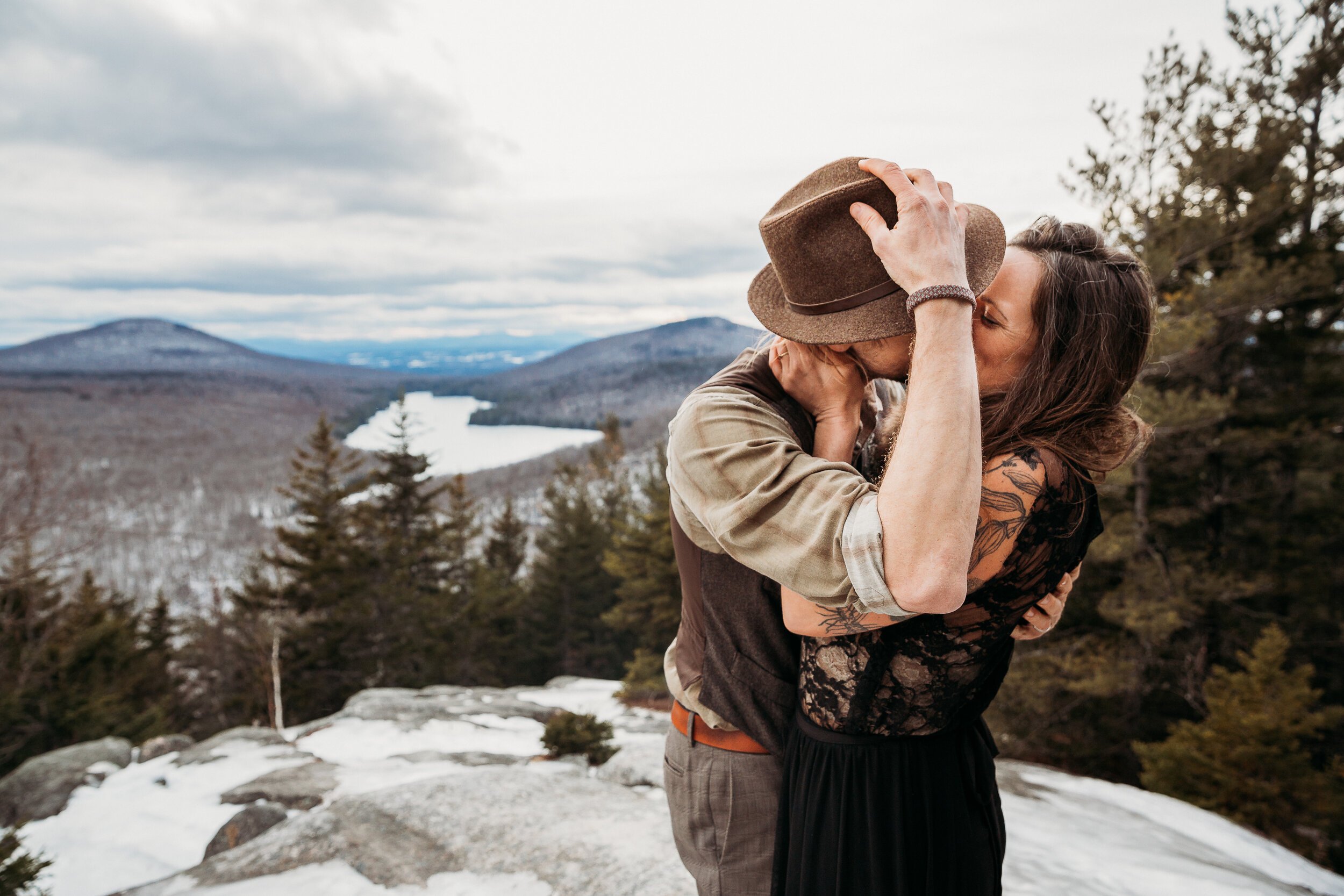 Mountain View Elopement Vermont