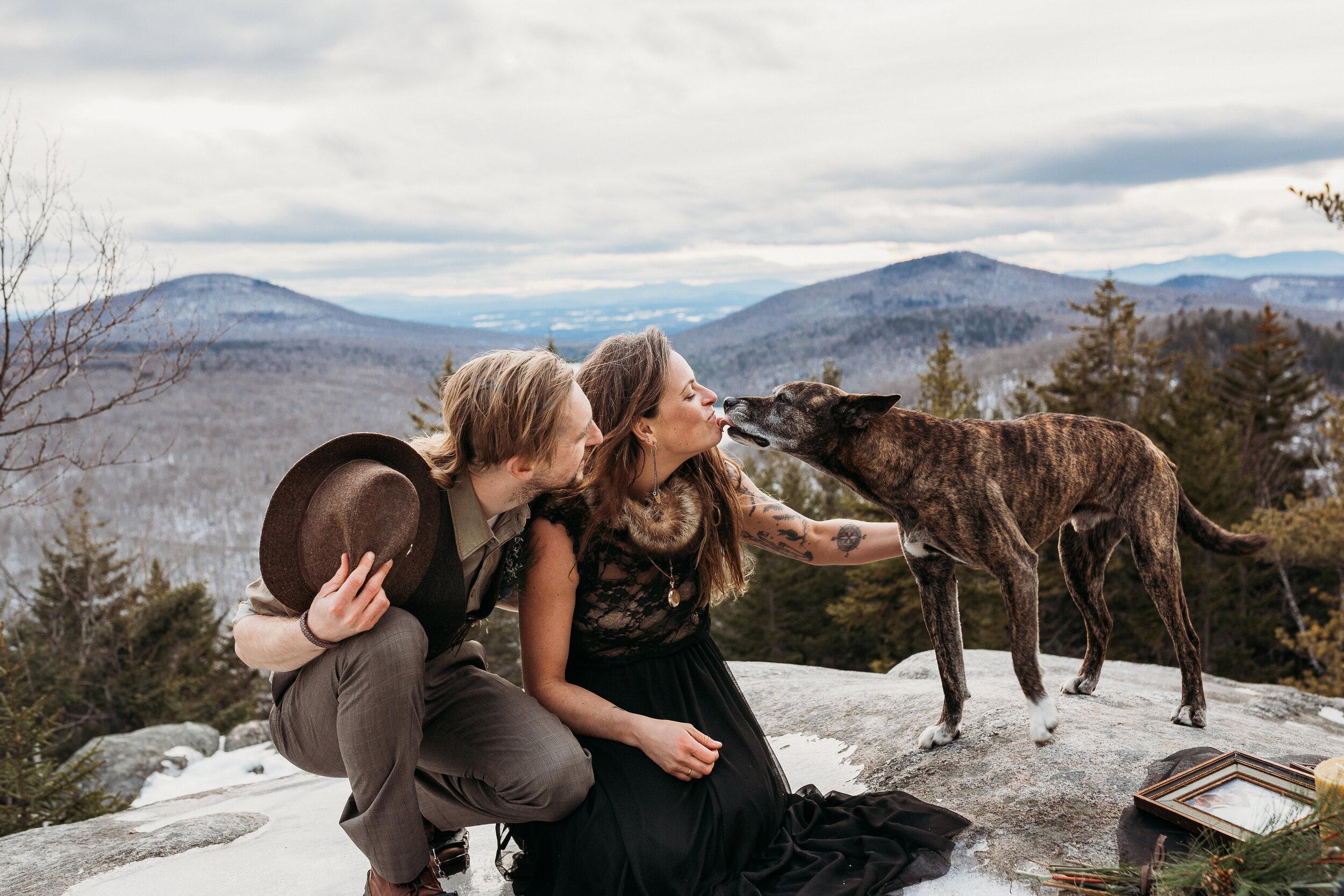 Whimsy Boho Elopement Inspo Vermont