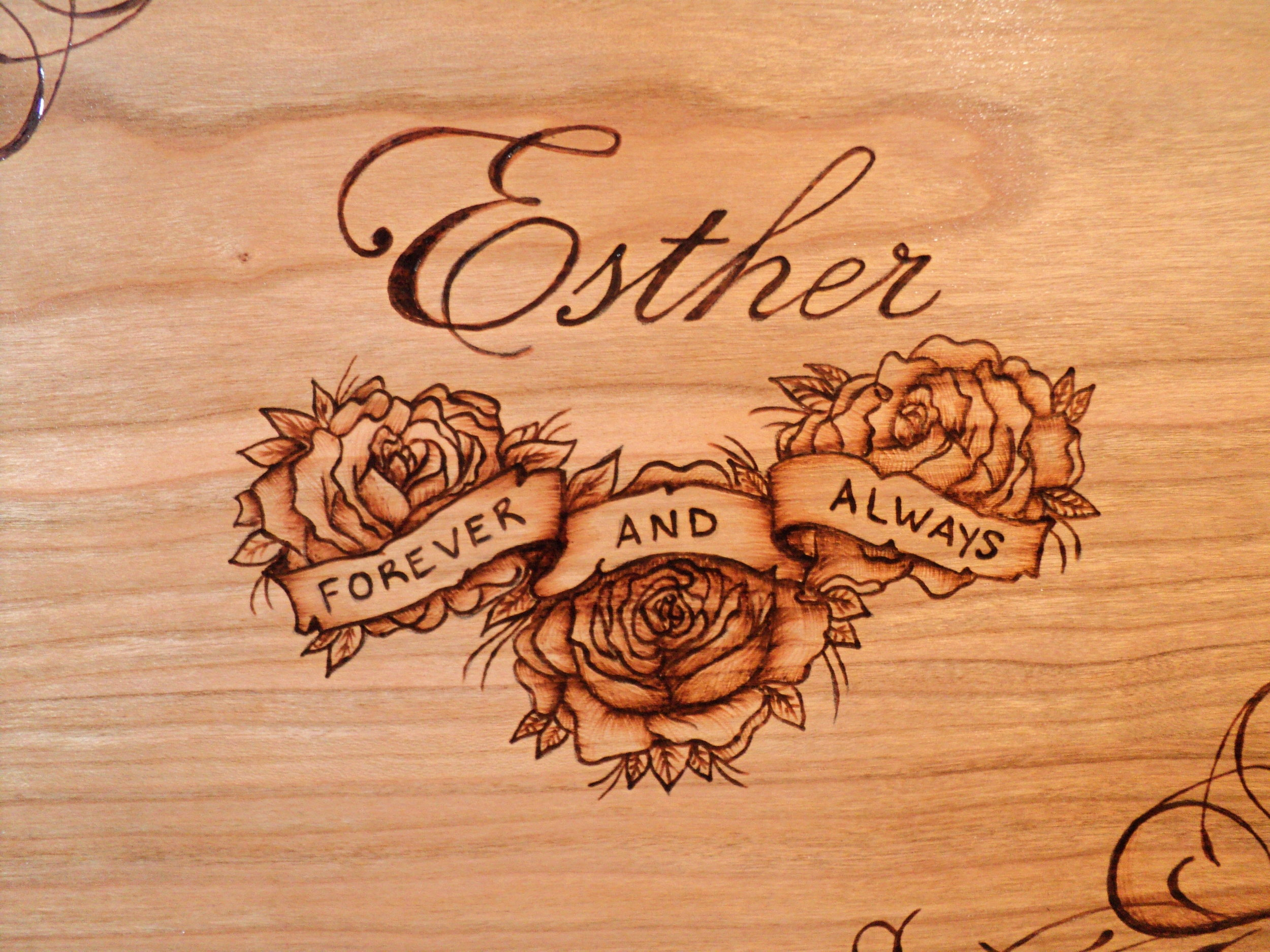 a custom order - makes any design completely yours. Add a name or an important date, a song lyric or poem that holds special meaning. A quote meant to provide inspiration or a private joke to make you smile. You can personalize an already existing design or turn your original idea into a work of art. It's all up to you.