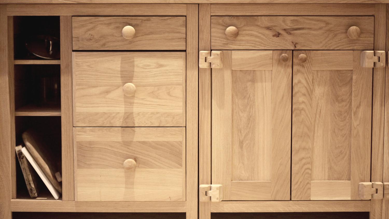 Bespoke Rustic Oak Kitchen Custom Off The Shelf