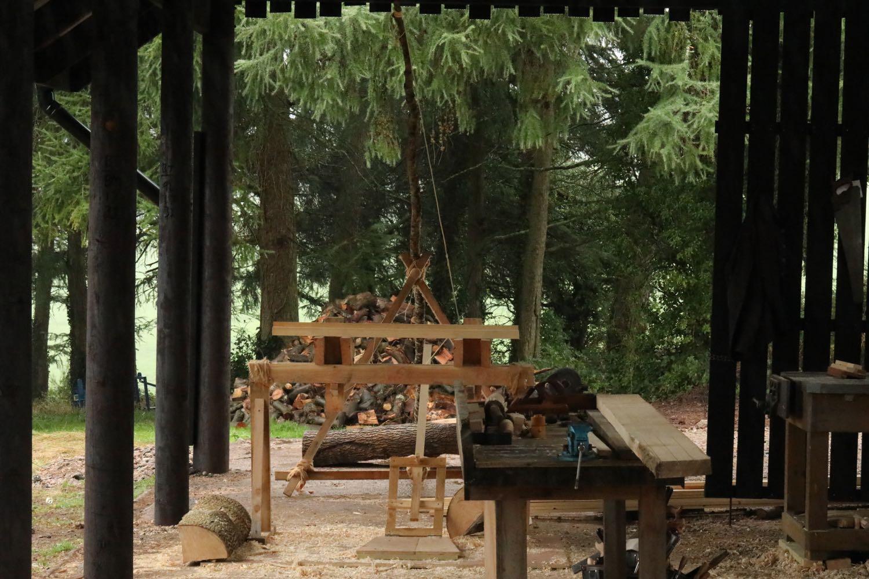 My open air workshop