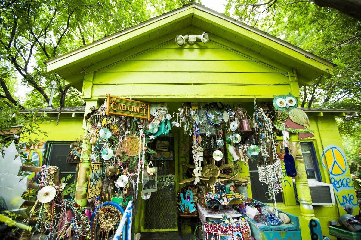 Inside the Homes of the Artists Keeping Austin Weird