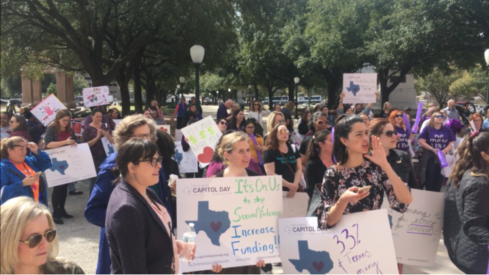 Texas Lawmakers Propose Funding Increase to Eliminate Waitlists at Rape Crisis Centers