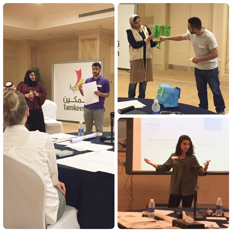 Human-Centered Design for Entrepreneurship + Innovation, Bahrain - Workshop on human-centered design in collaboration with a GCC SME business.