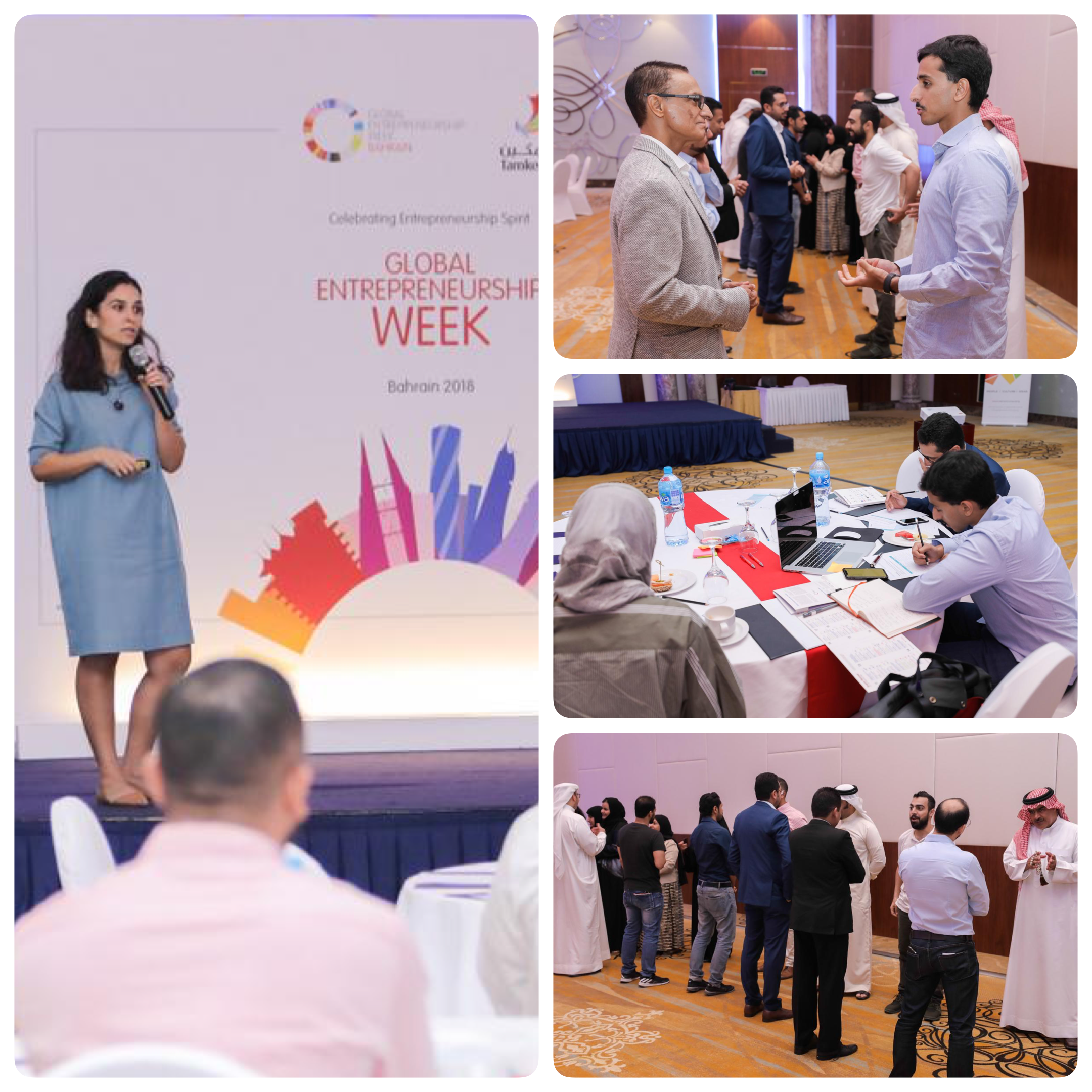 Global Entrepreneurship Week, Bahrain 2018 - Workshop on building and scaling your team to sustain growth
