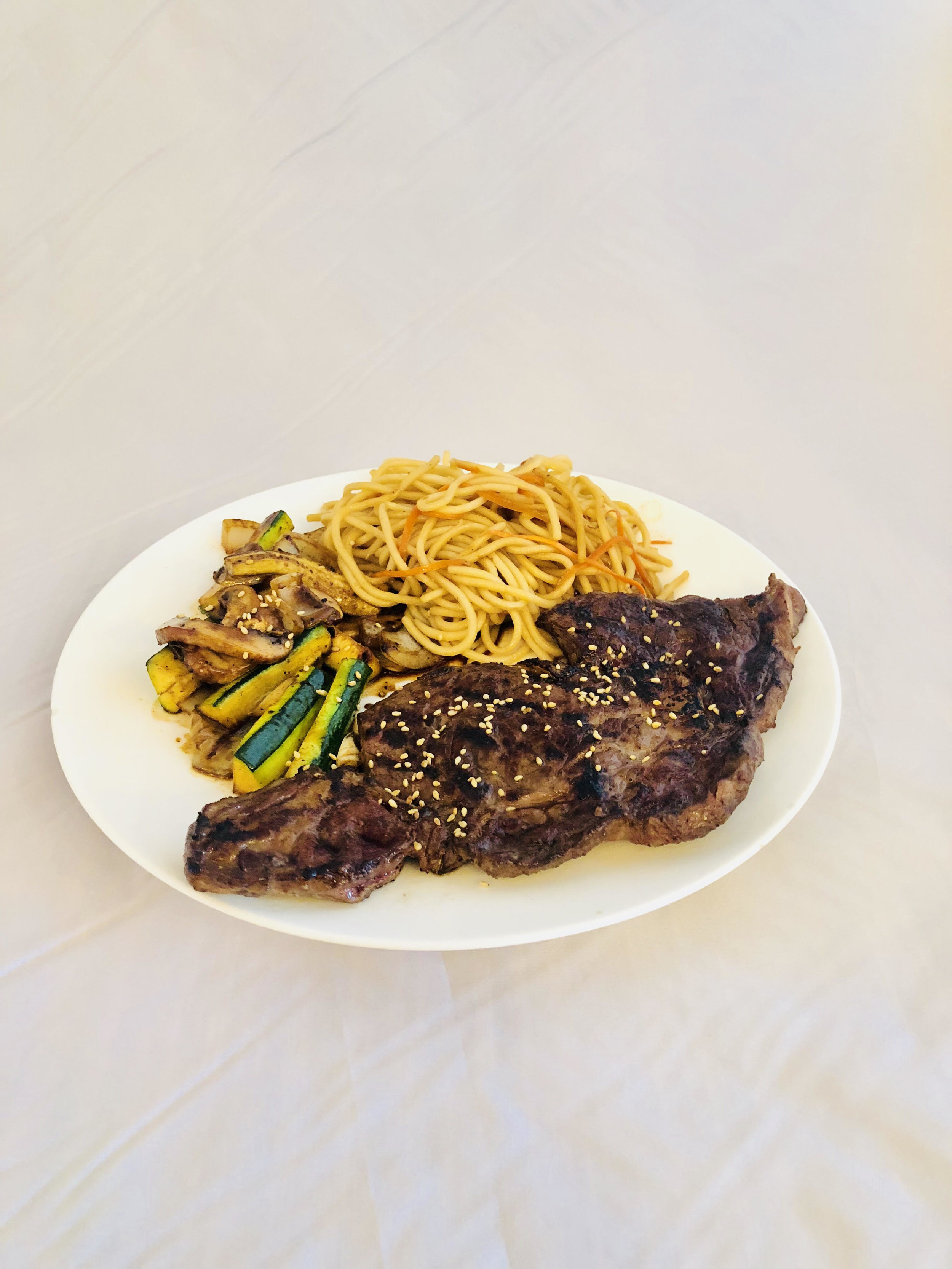 Ribeye and Noodles