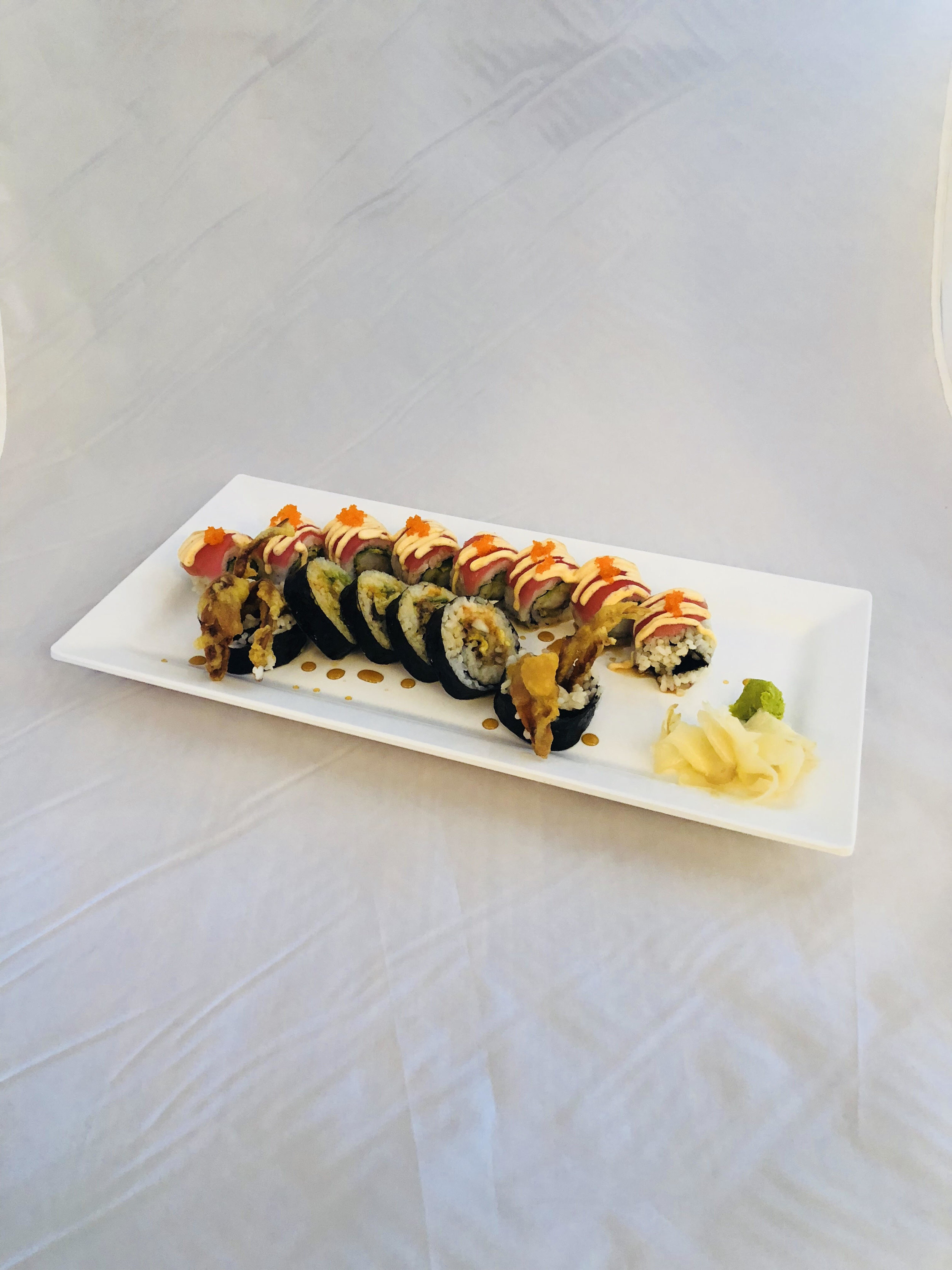 Back: Playboy Roll  Front: Spider Roll