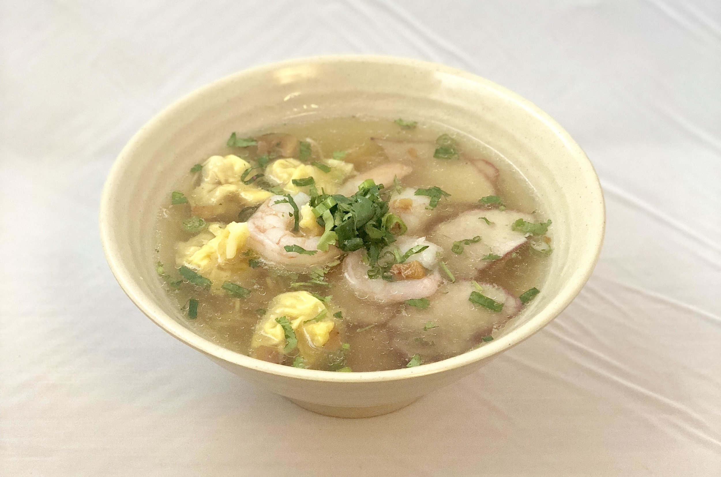 House Special Wonton Noodle Soup (Old menu 2017)