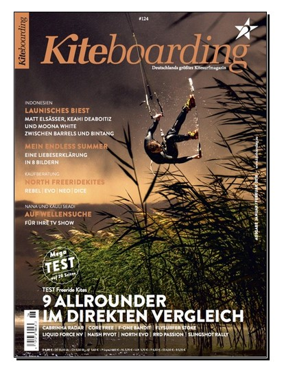 KITEBOARDING   Print in Germanys biggest Kitesurfing Magazine