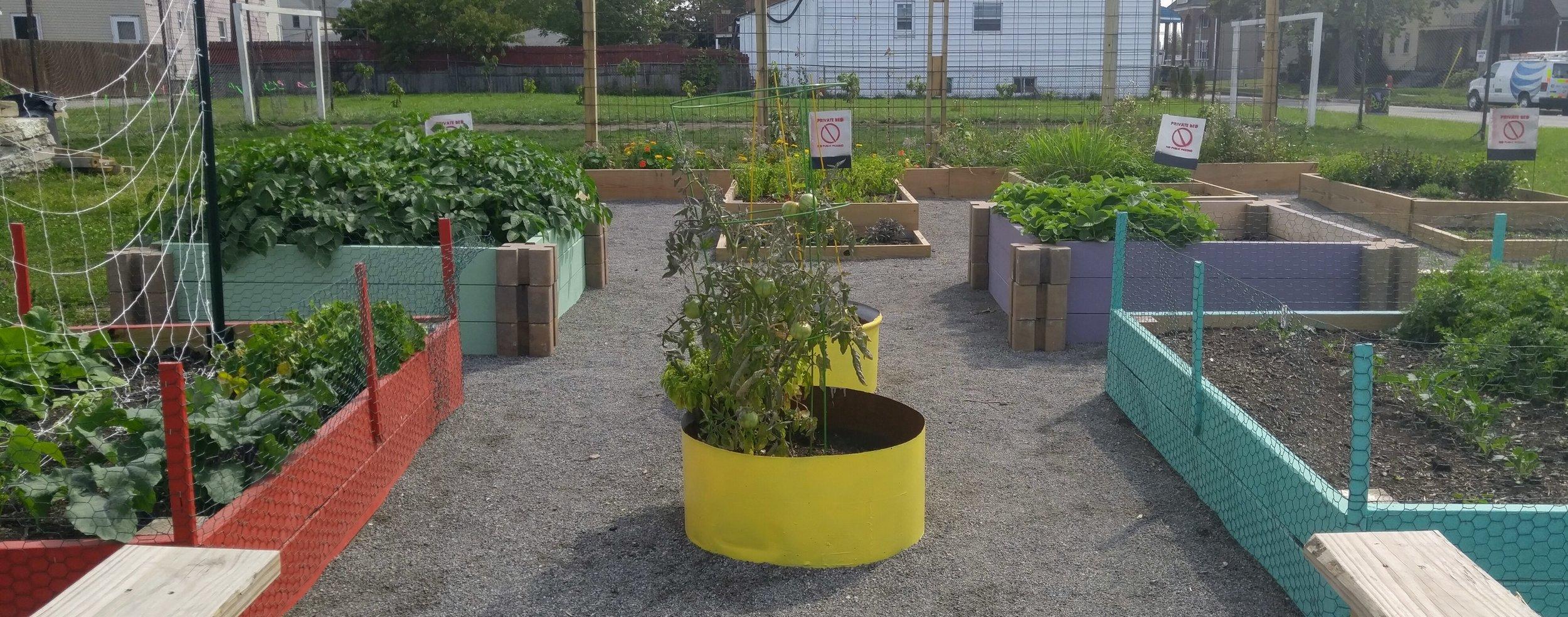 Building Bridges - Multicultural Children's Community Garden