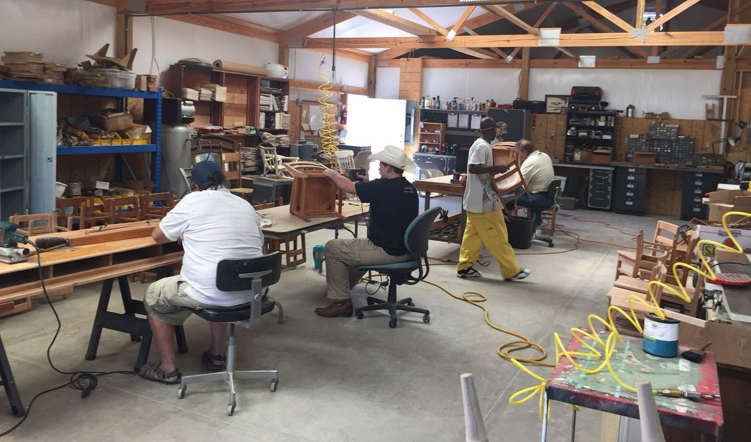 To Furnishing a Future - In 2014, Pathway House began its Furnishing a Future program where clients can learn job skills and discipline. A United Way partnership underwrites this program that provides the work experience necessary to build resumes and an opportunity to save money.