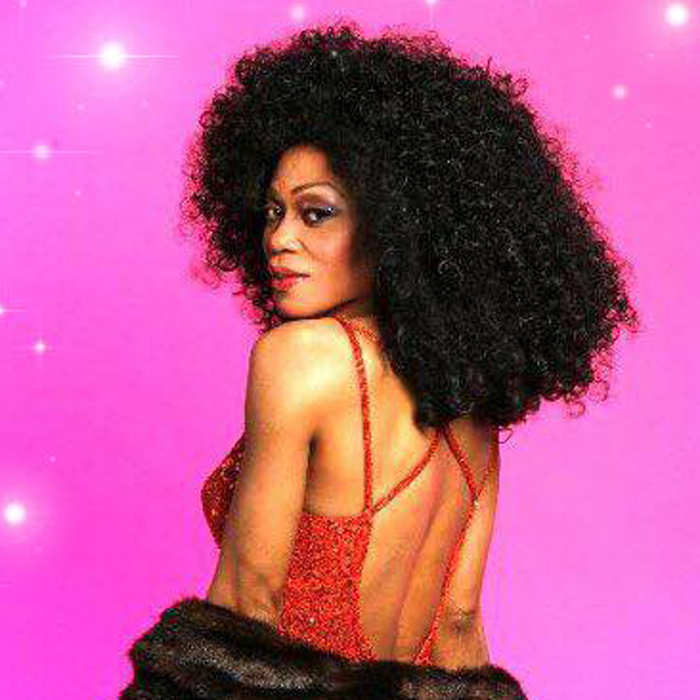 Crystal Woods as Diana Ross *