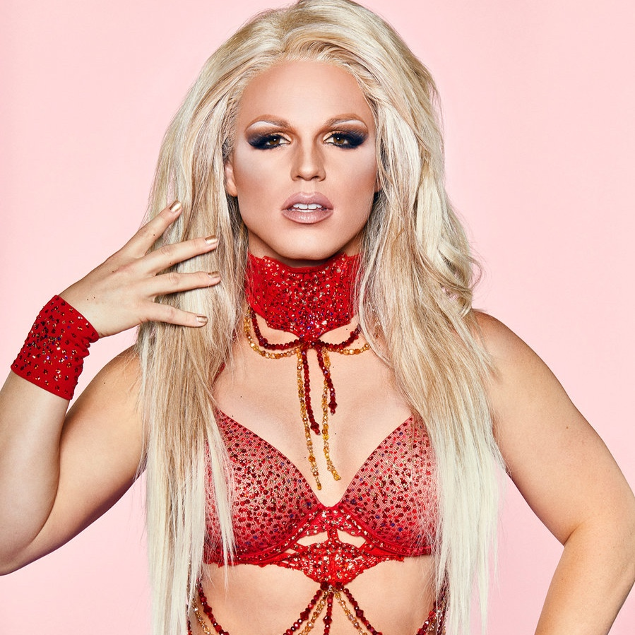 Derrick Barry as Britney Spears *