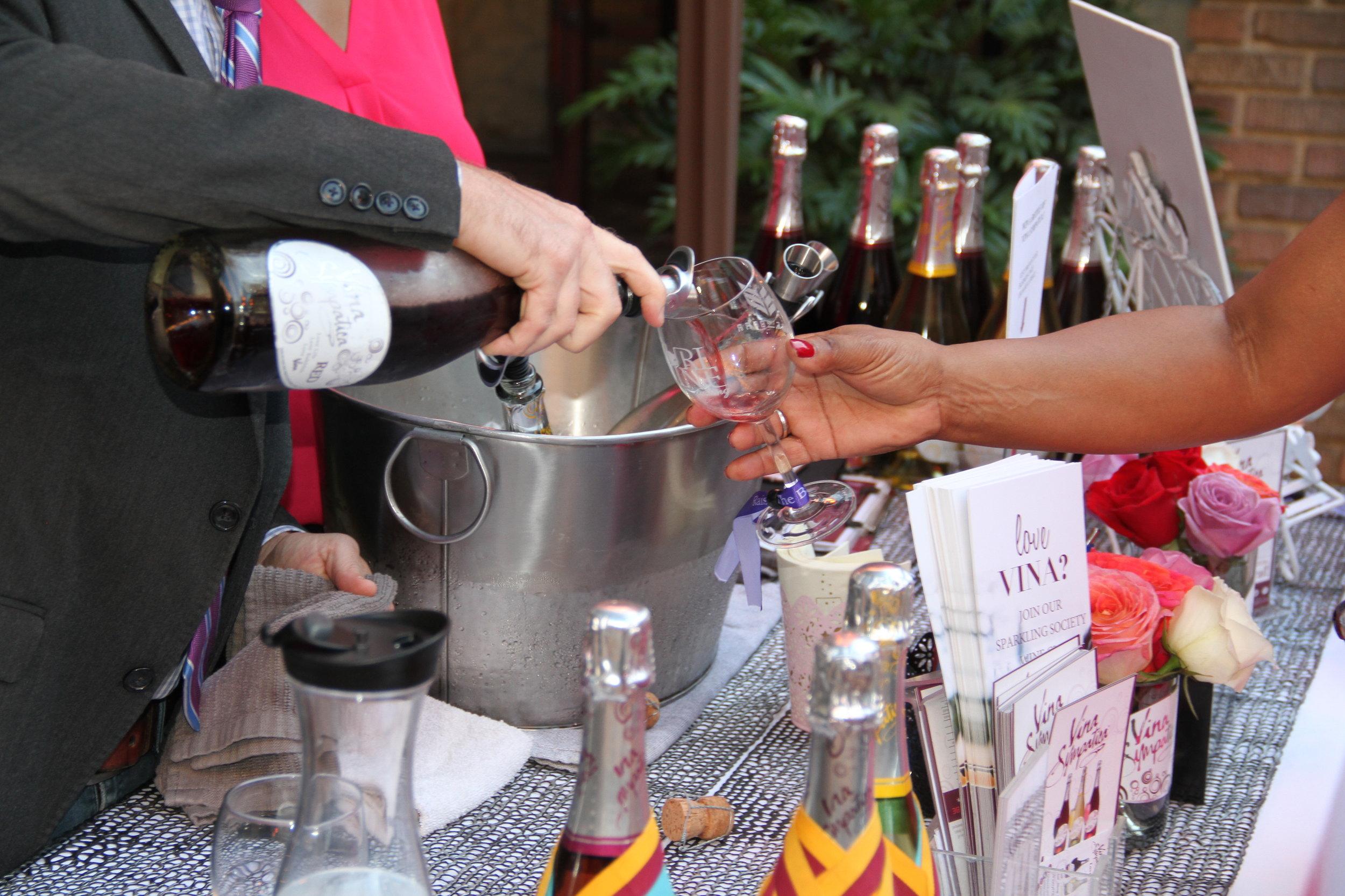 Anthony Barr's Wine Tasting Fundraiser