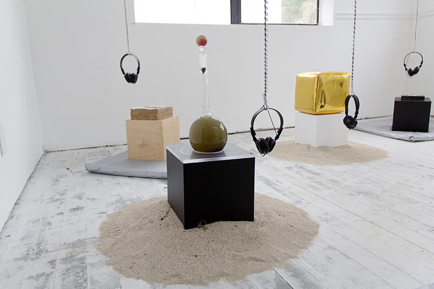 Gravity Assist  with Sediment Arts, Satellite Artist-Run Fair 2015, Miami, FL. Accompanying sound piece by Cecilia
