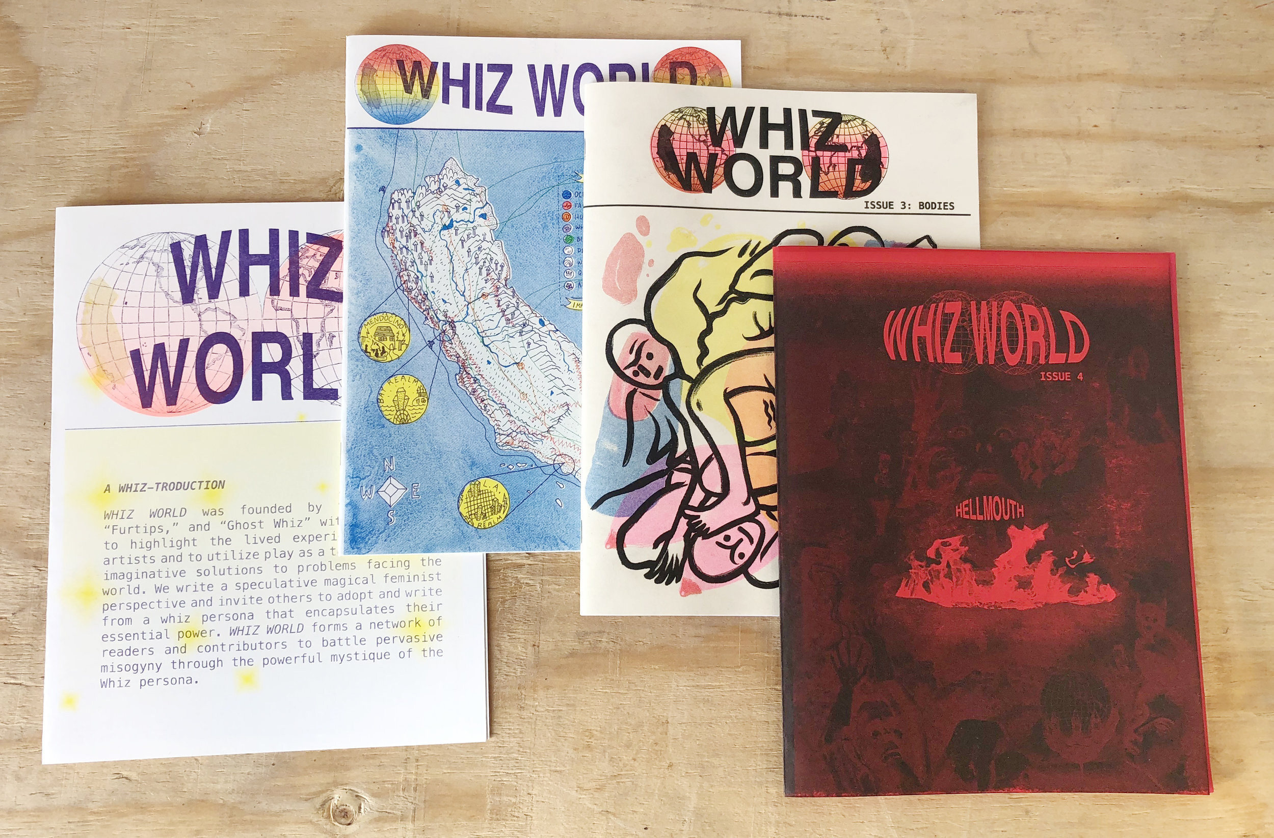 Whiz World Issues 1-4