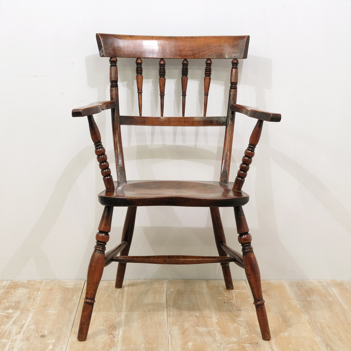 Early Fruitwood Suffolk Chair — Cunningham White's