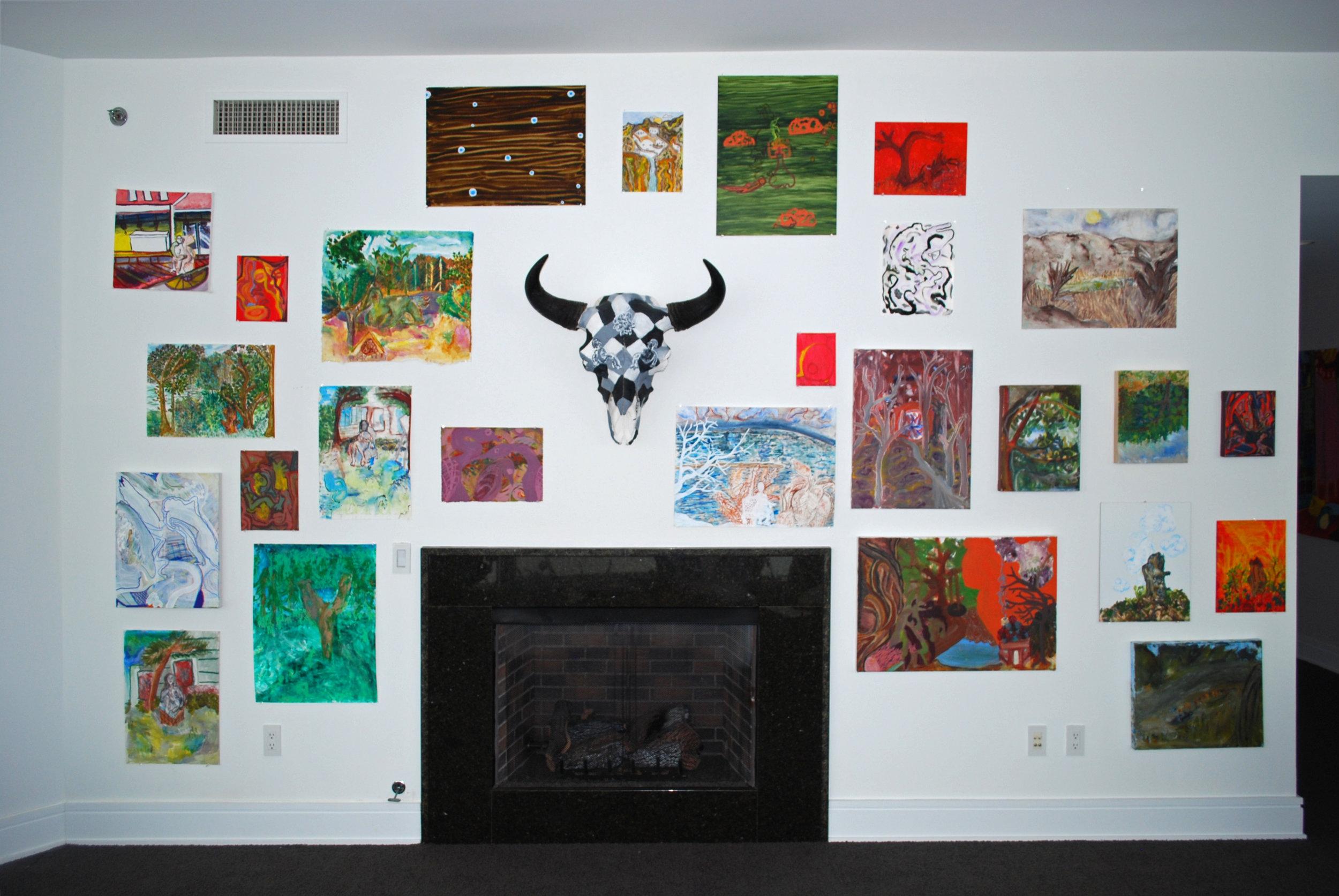 Wall of Paintings 2 2017.jpg