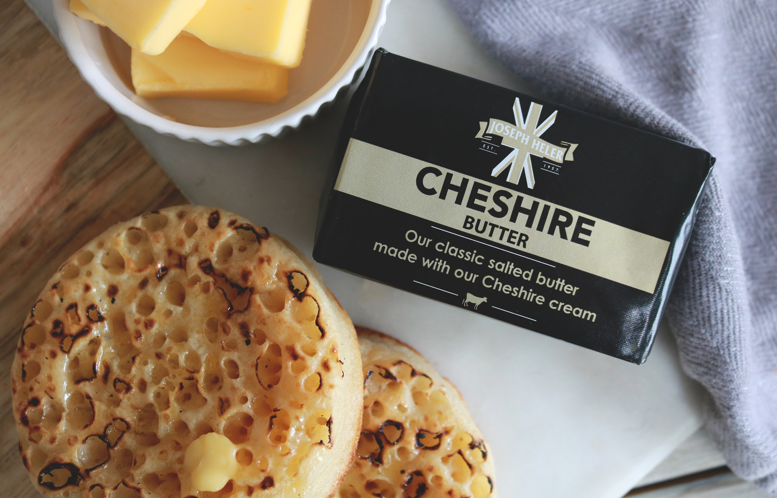 Cheshire Butter - A butter for people who love real food