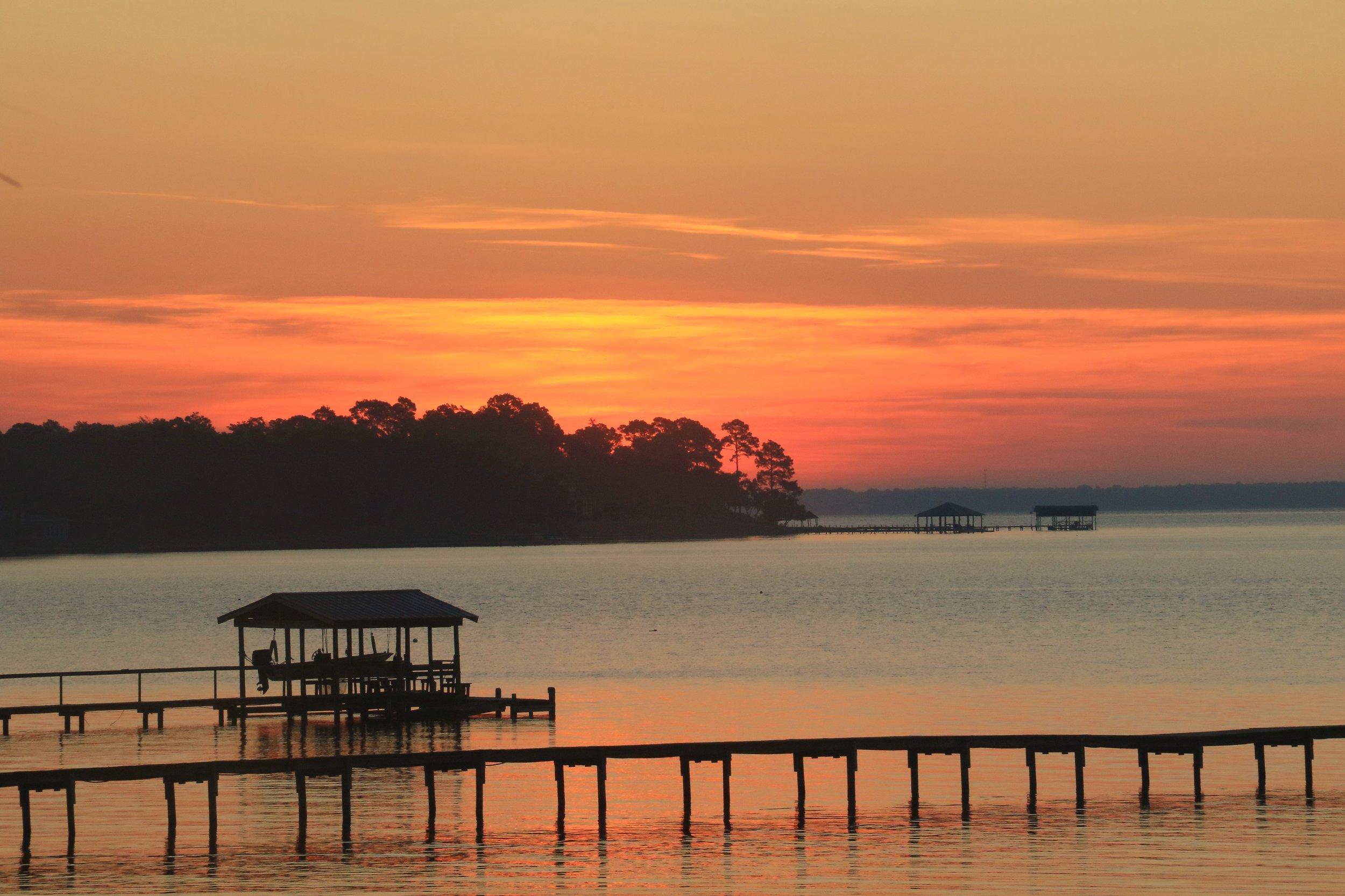 Sunrise at Perdido Bay