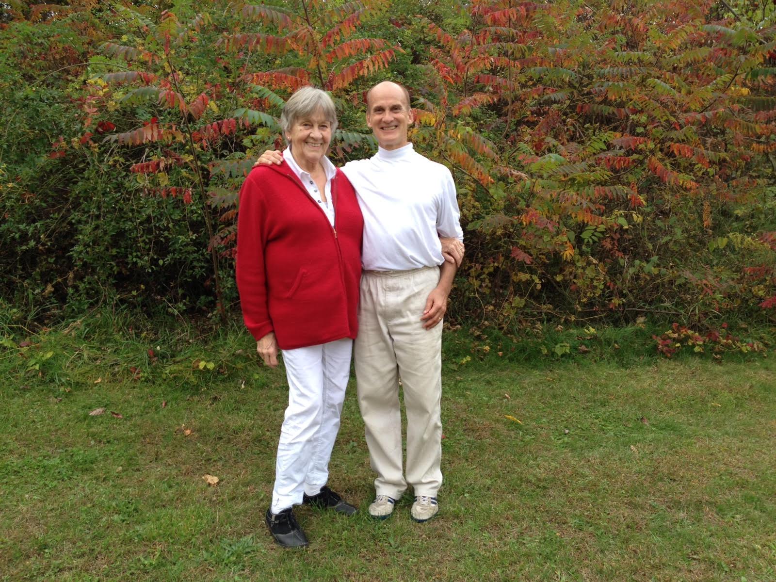 Alheidis Von Bothmer and Jaimen McMillan.  Mechanicville, NY, October 2013.