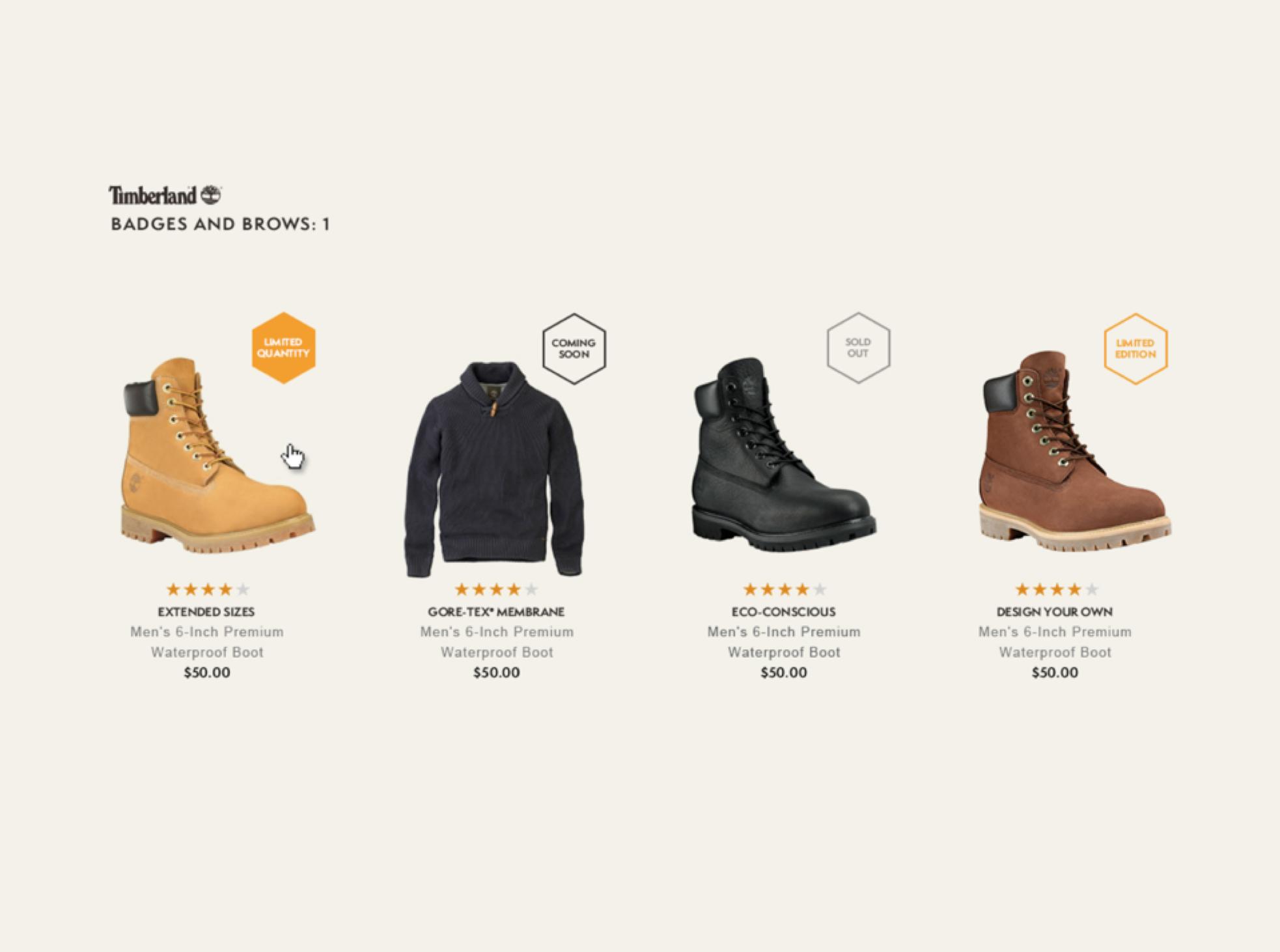 Timberland - Web Styles
