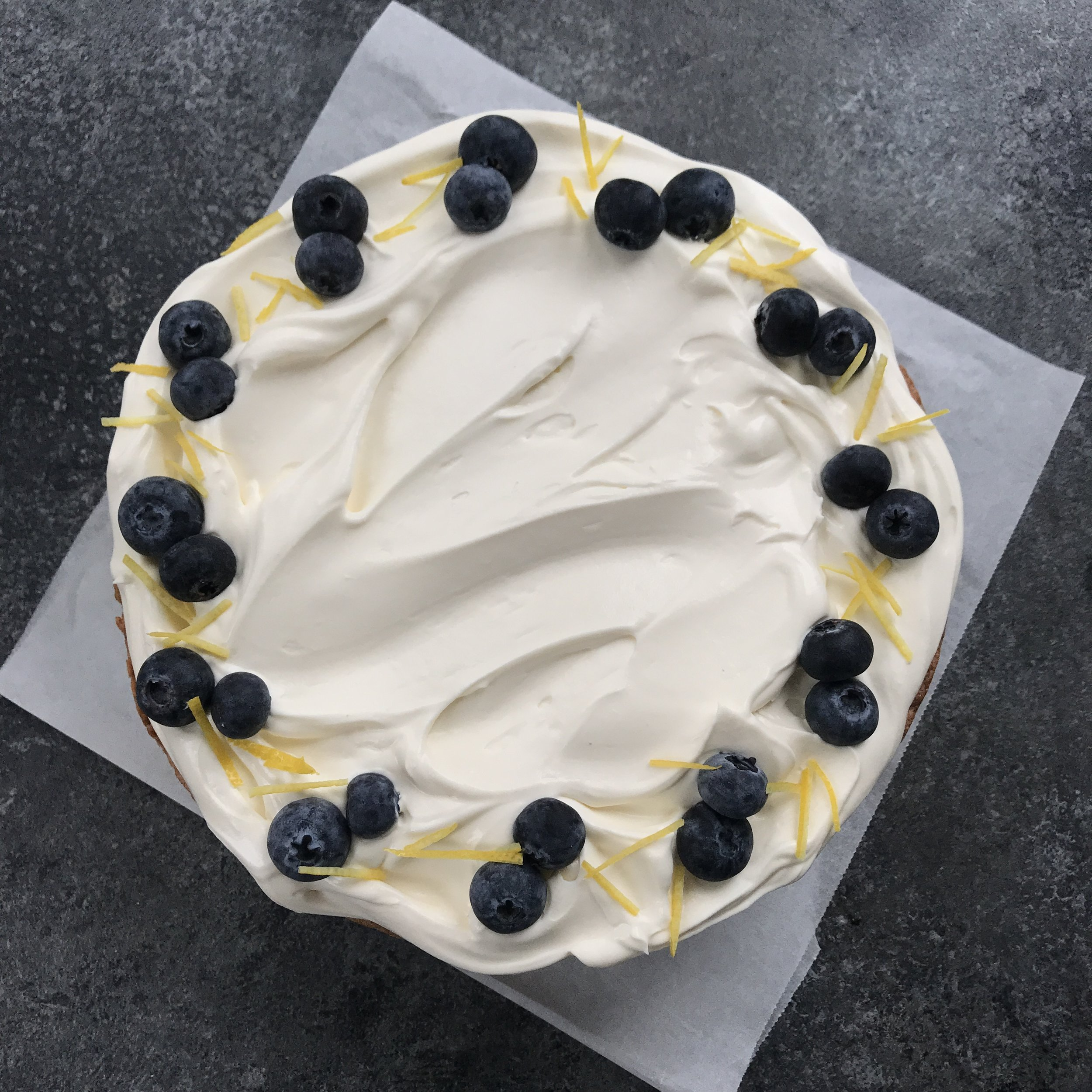 Lemon & Blueberry Classic Cake  £40.00