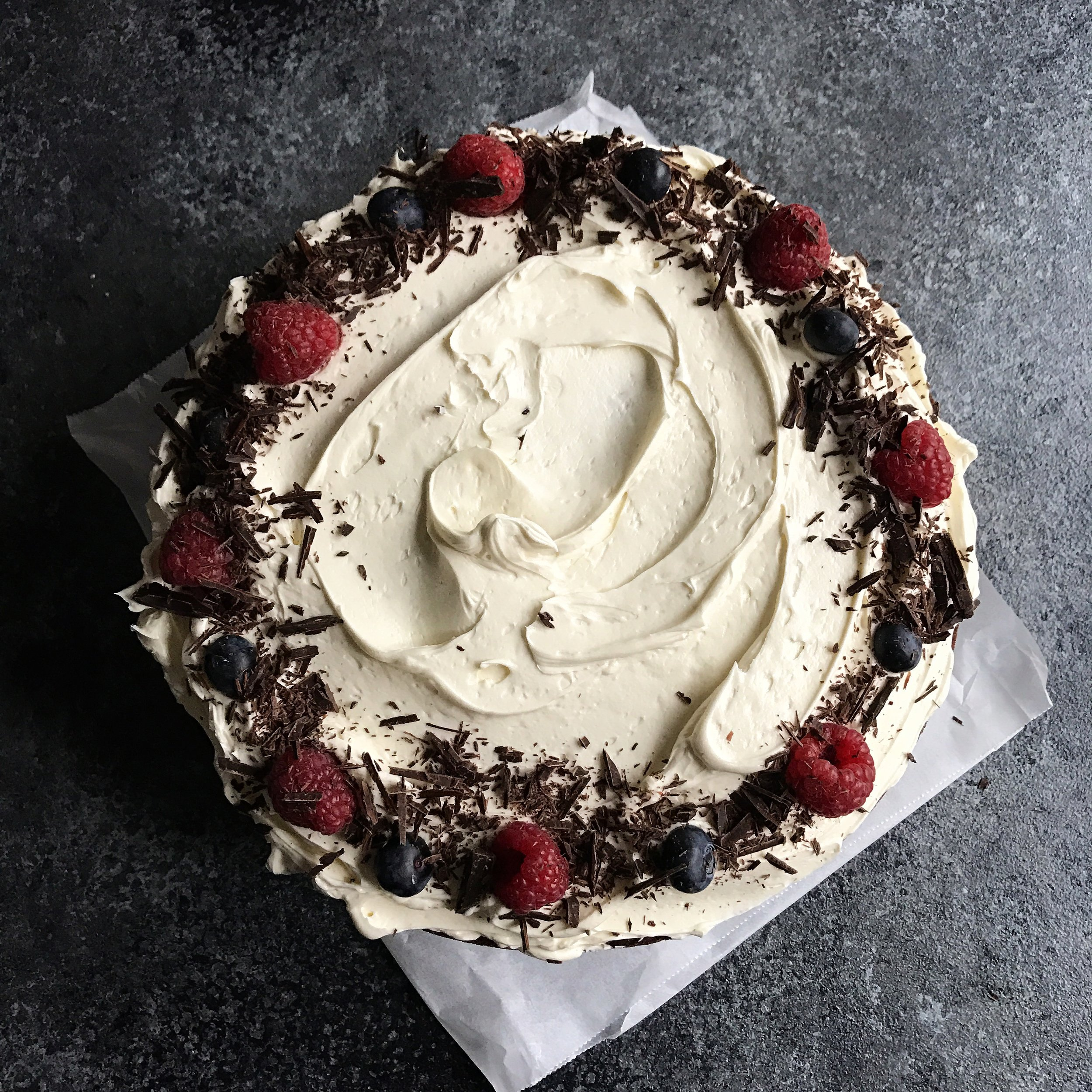 Chocolate & Berry Cake  £40.00